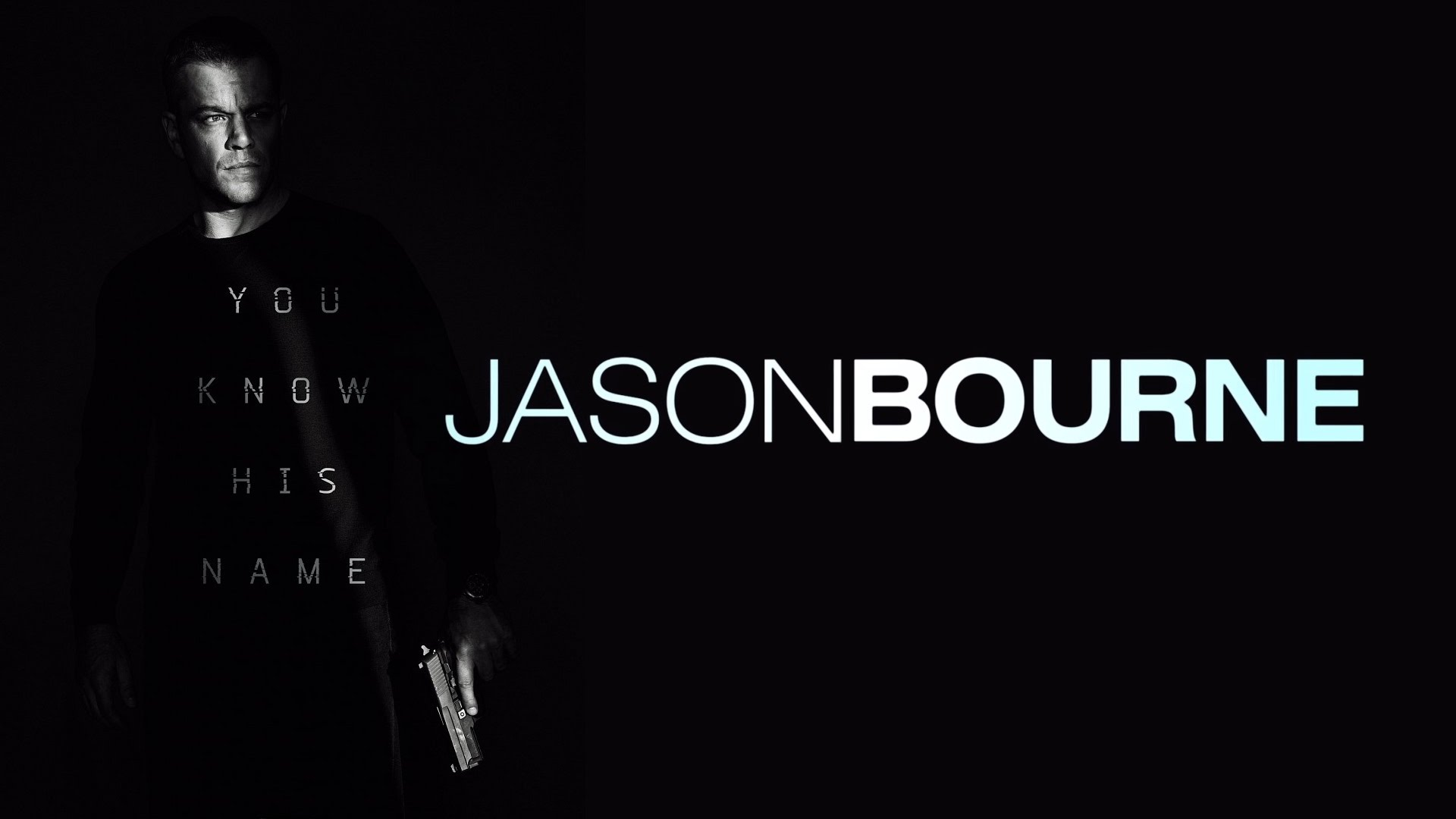 Jason Bourne Desktop wallpaper