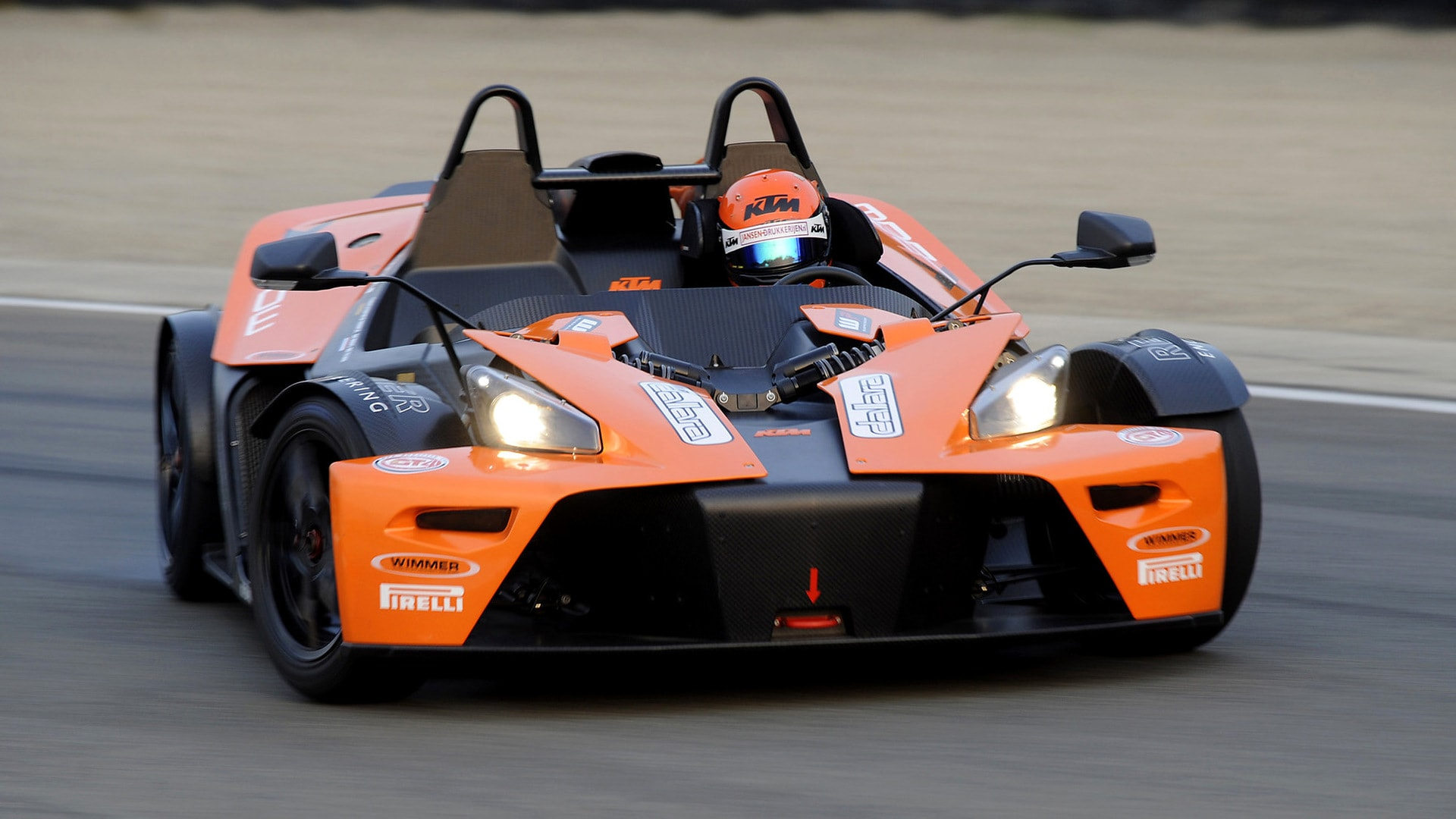 KTM X-Bow Widescreen for desktop