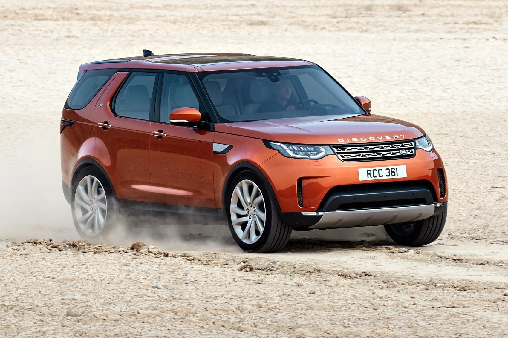 Land Rover Discovery 5 Desktop wallpaper
