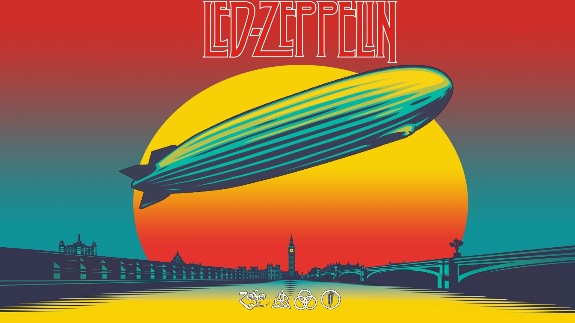 Led Zeppelin Desktop wallpaper