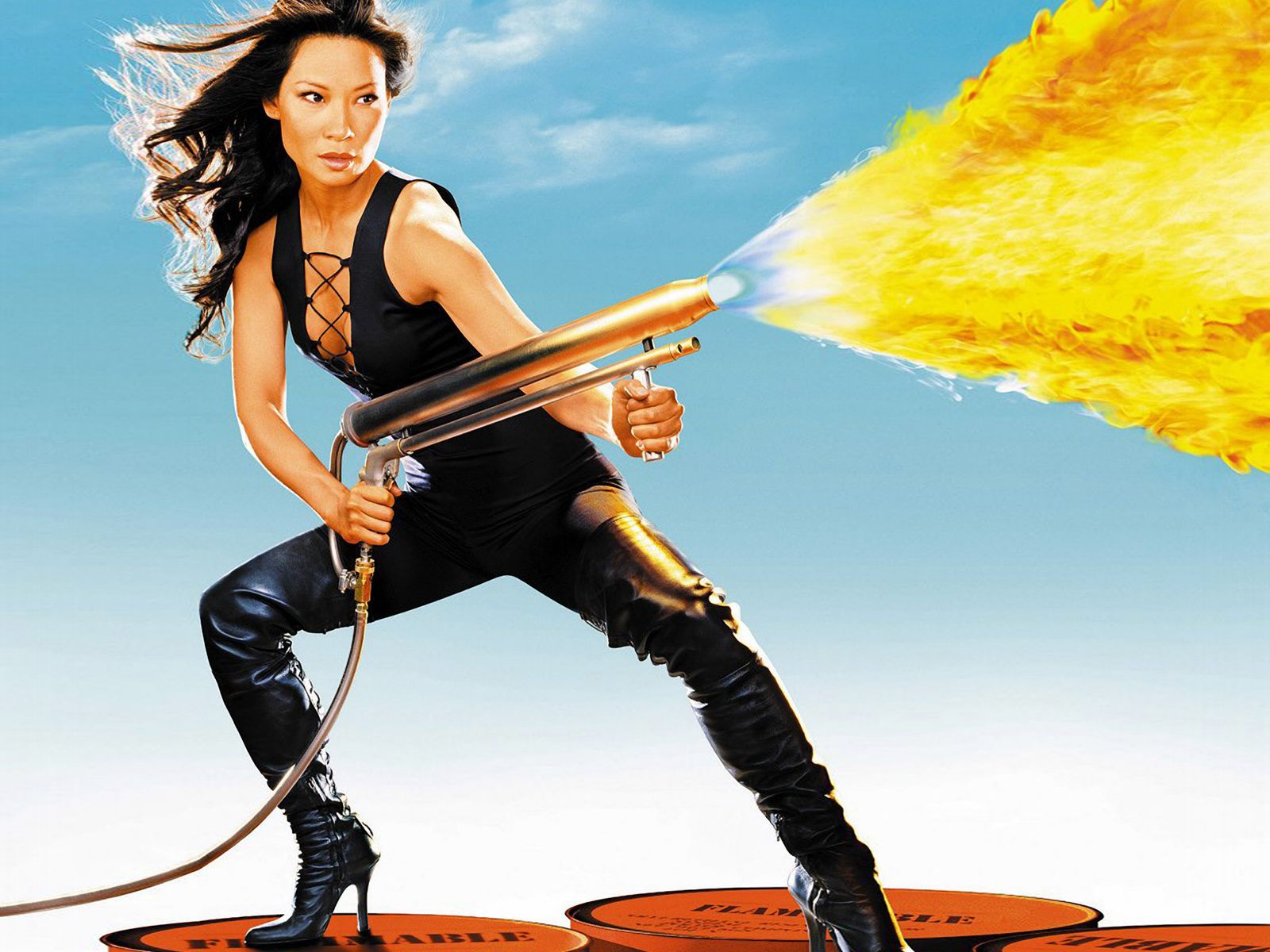 Lucy Liu Desktop wallpaper