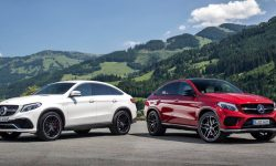 Mercedes-Benz GLE coupe desktop wallpapers