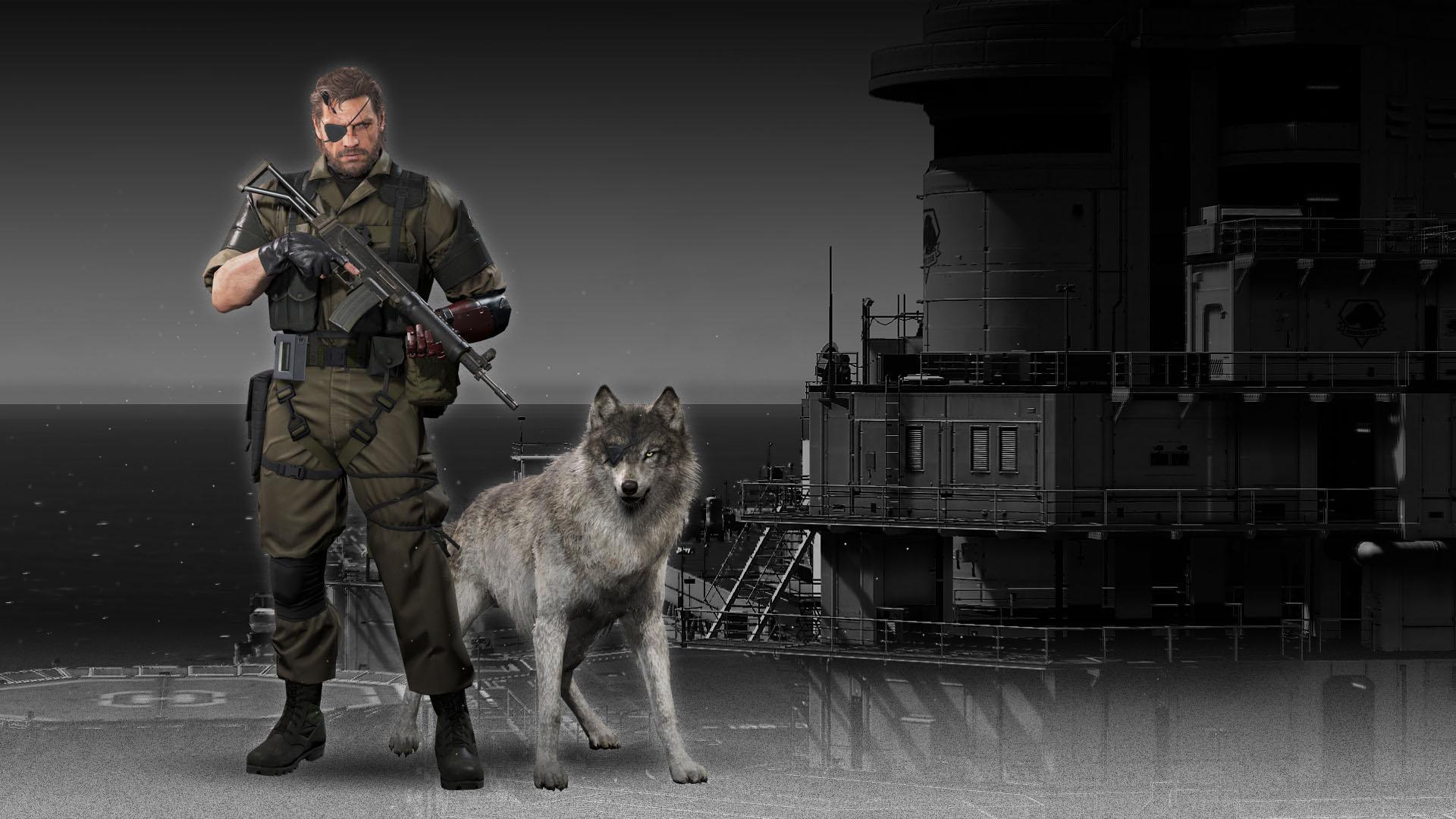 Metal Gear Solid V: The Phantom Pain Desktop wallpaper