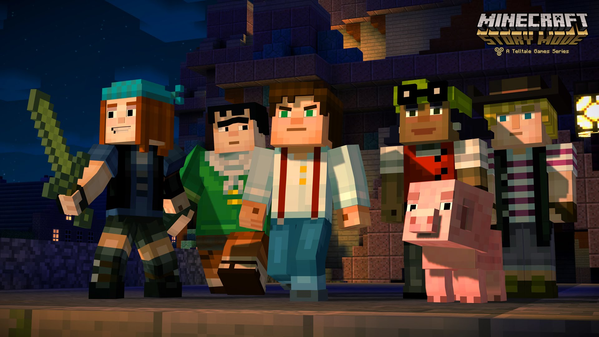 Minecraft: Story Mode - Episode 3: The Last Place You Look Desktop wallpaper