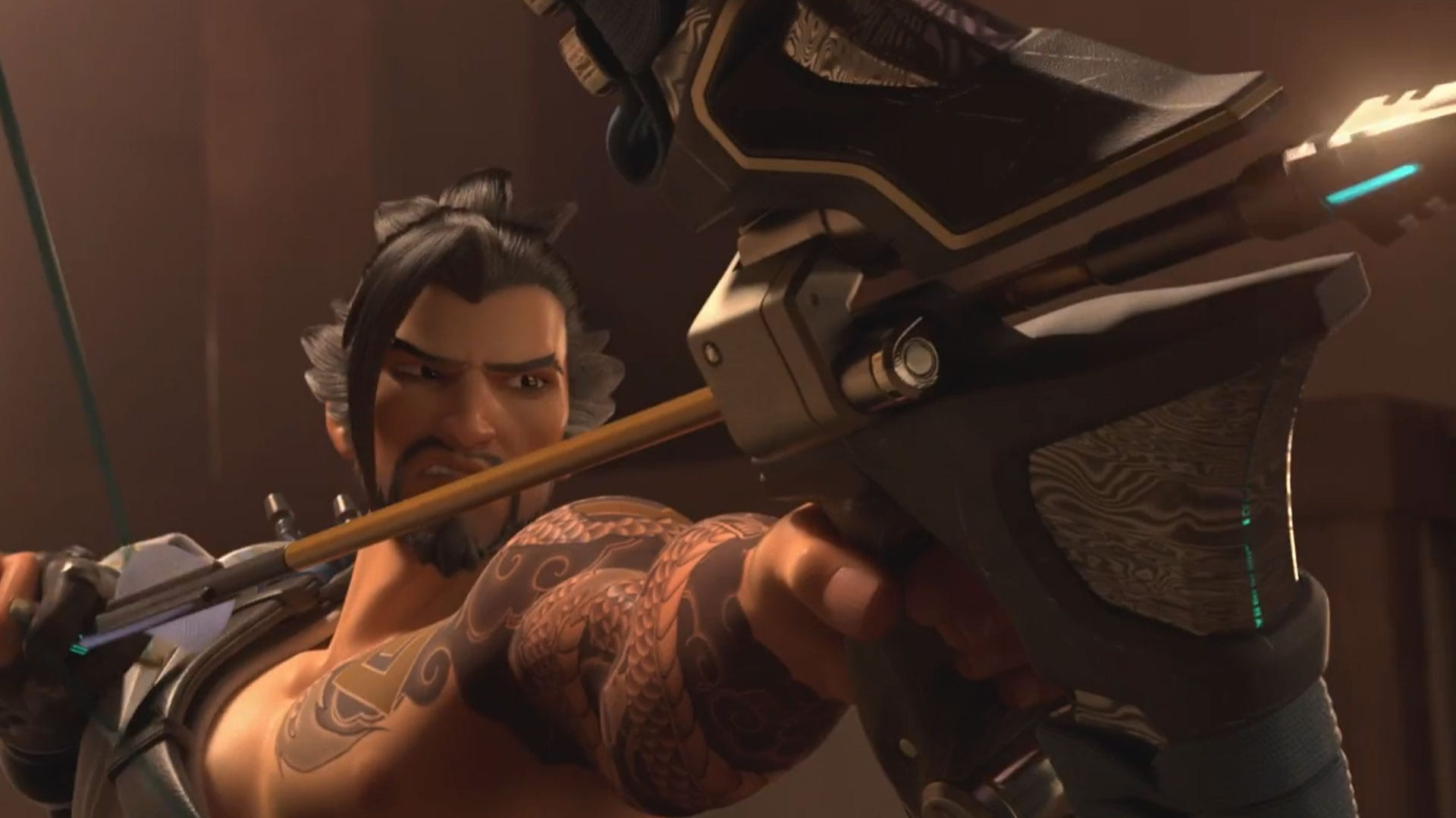 Overwatch : Hanzo Desktop wallpaper