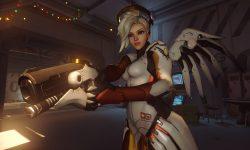 Overwatch : Mercy Desktop wallpaper