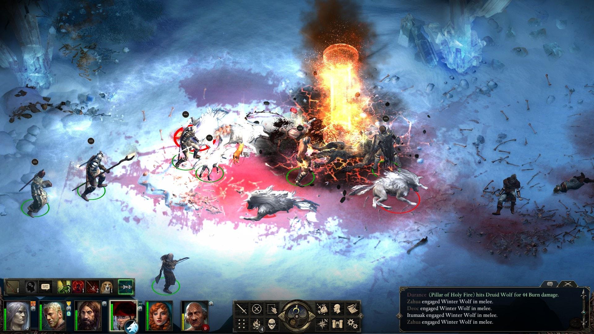 Pillars of Eternity: The White March 2 Desktop wallpaper