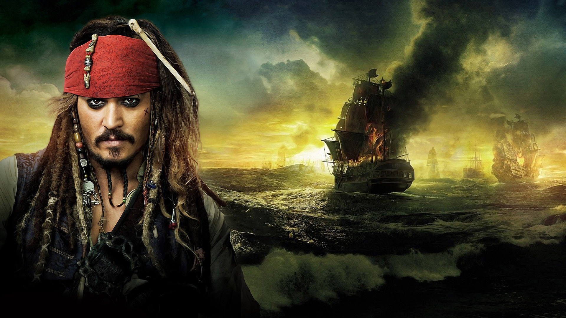 pirates of the caribbean: dead men tell no tales hd wallpapers