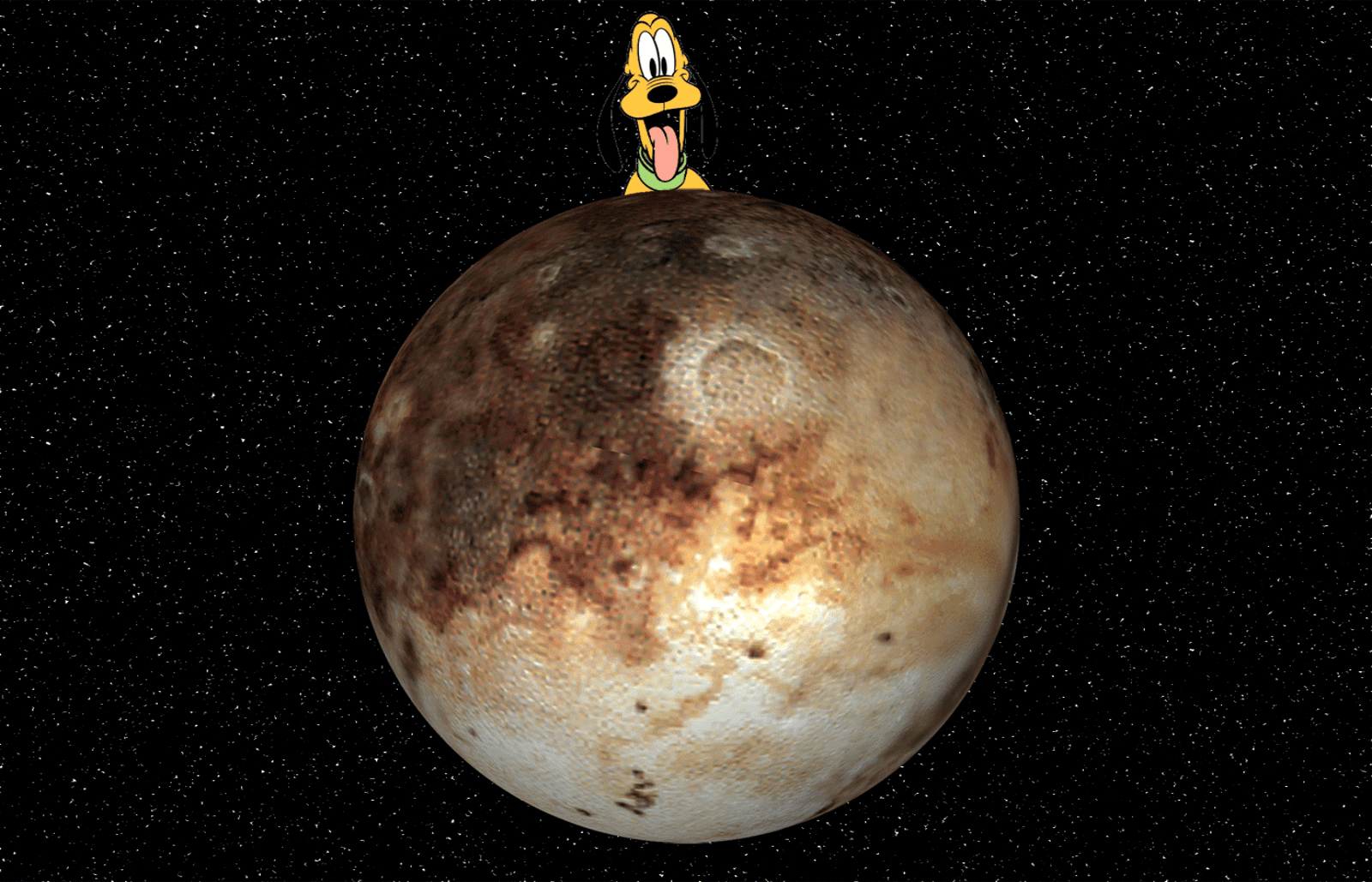 Pluto Desktop wallpaper