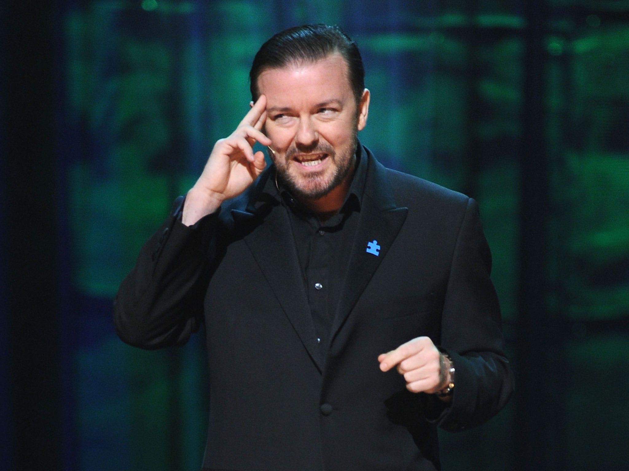Ricky Gervais Desktop wallpaper