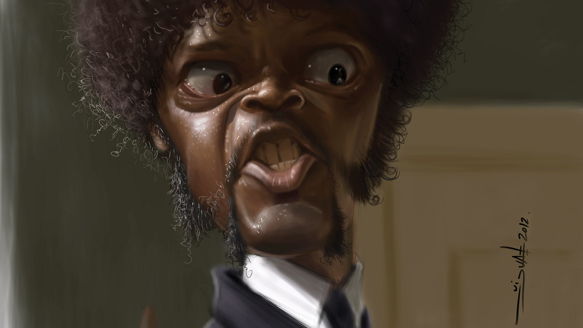 Samuel Jackson Desktop wallpaper