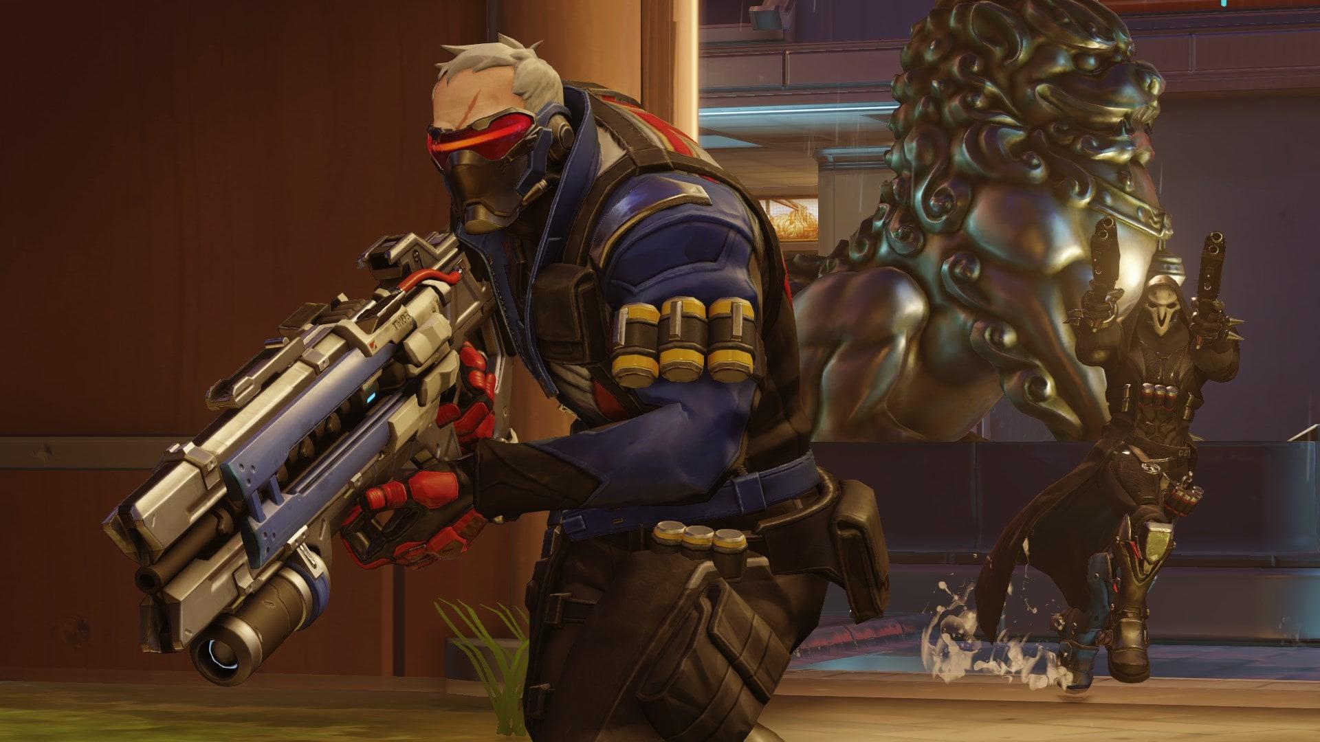 Overwatch : Soldier: 76 Desktop wallpaper