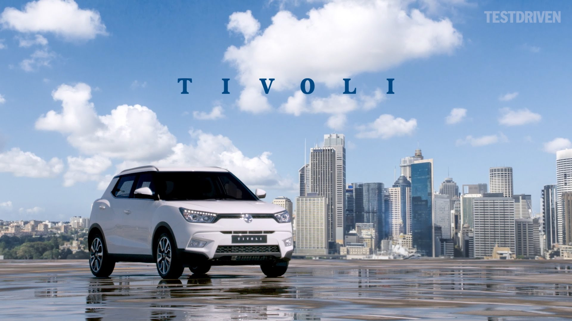 SsangYong Tivoli Desktop wallpaper