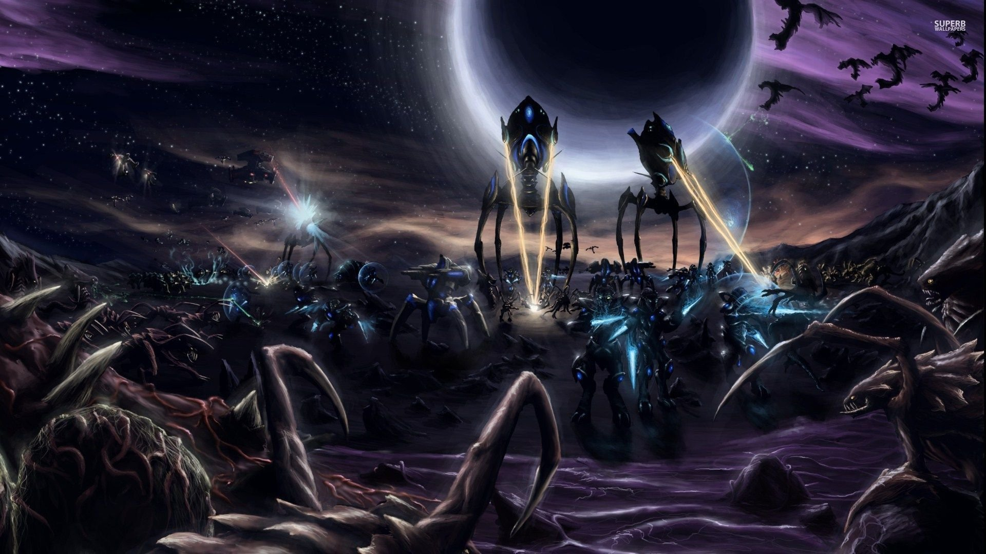 StarCraft 2: Legacy of the Void Desktop wallpaper