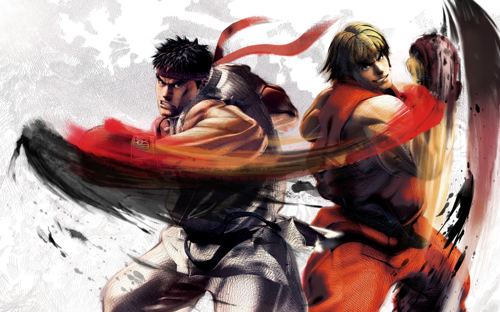 Street Fighter 5 Desktop wallpaper