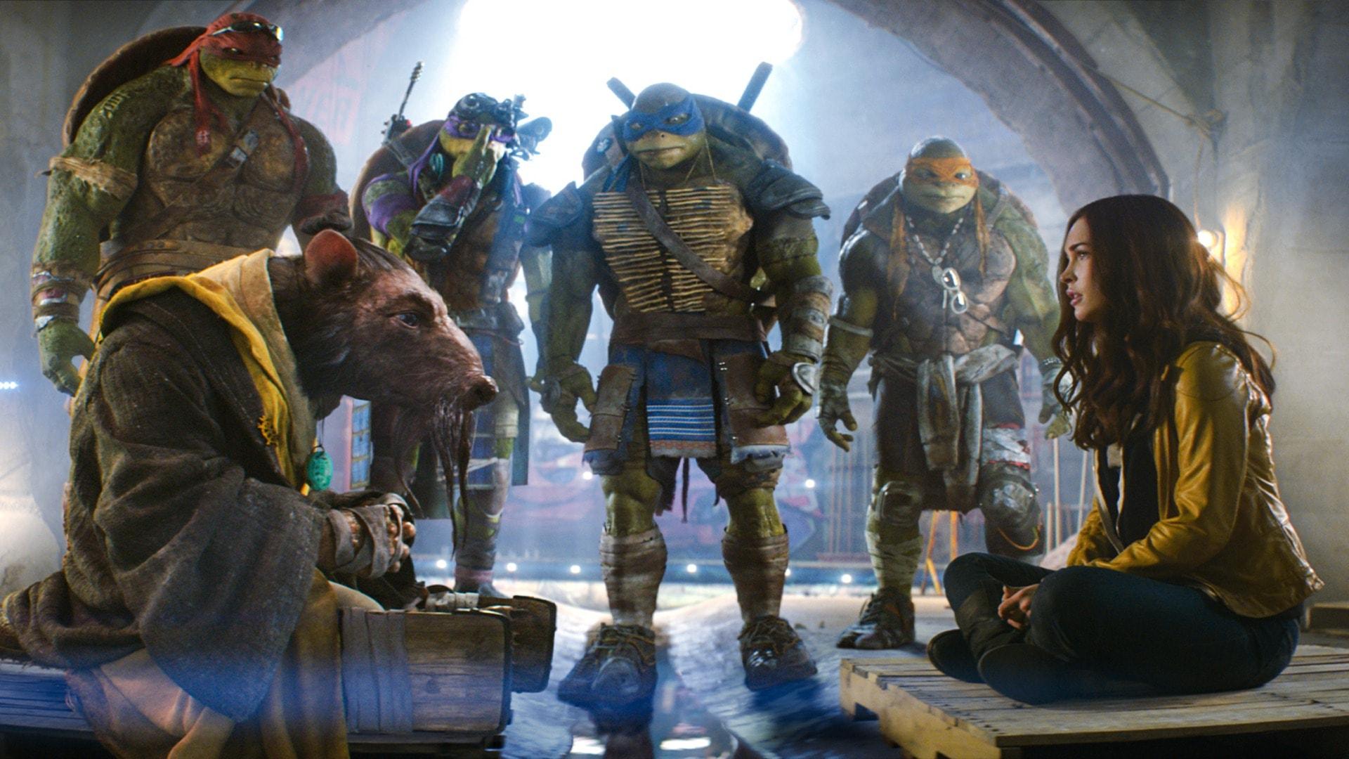 Teenage Mutant Ninja Turtles desktop wallpaper