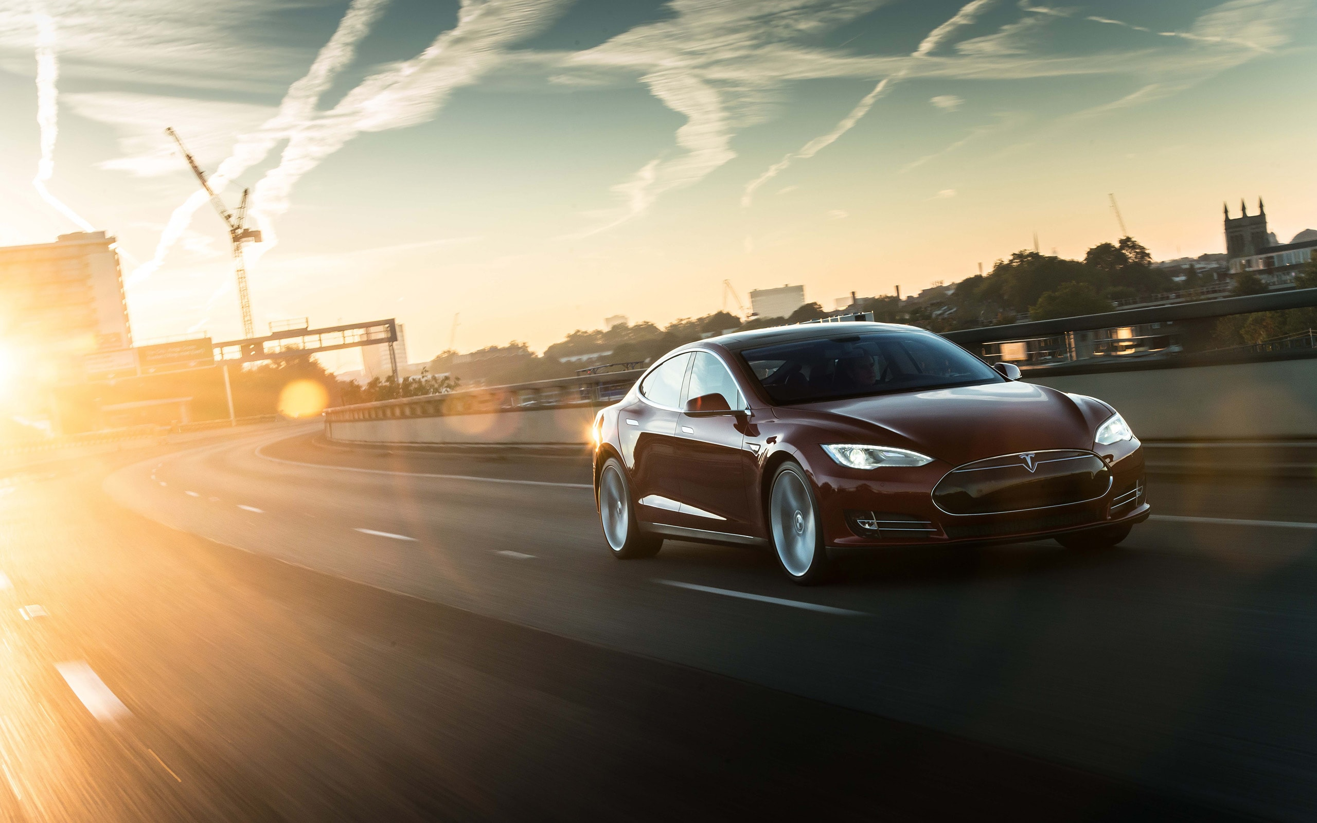 Tesla Model S Desktop wallpaper