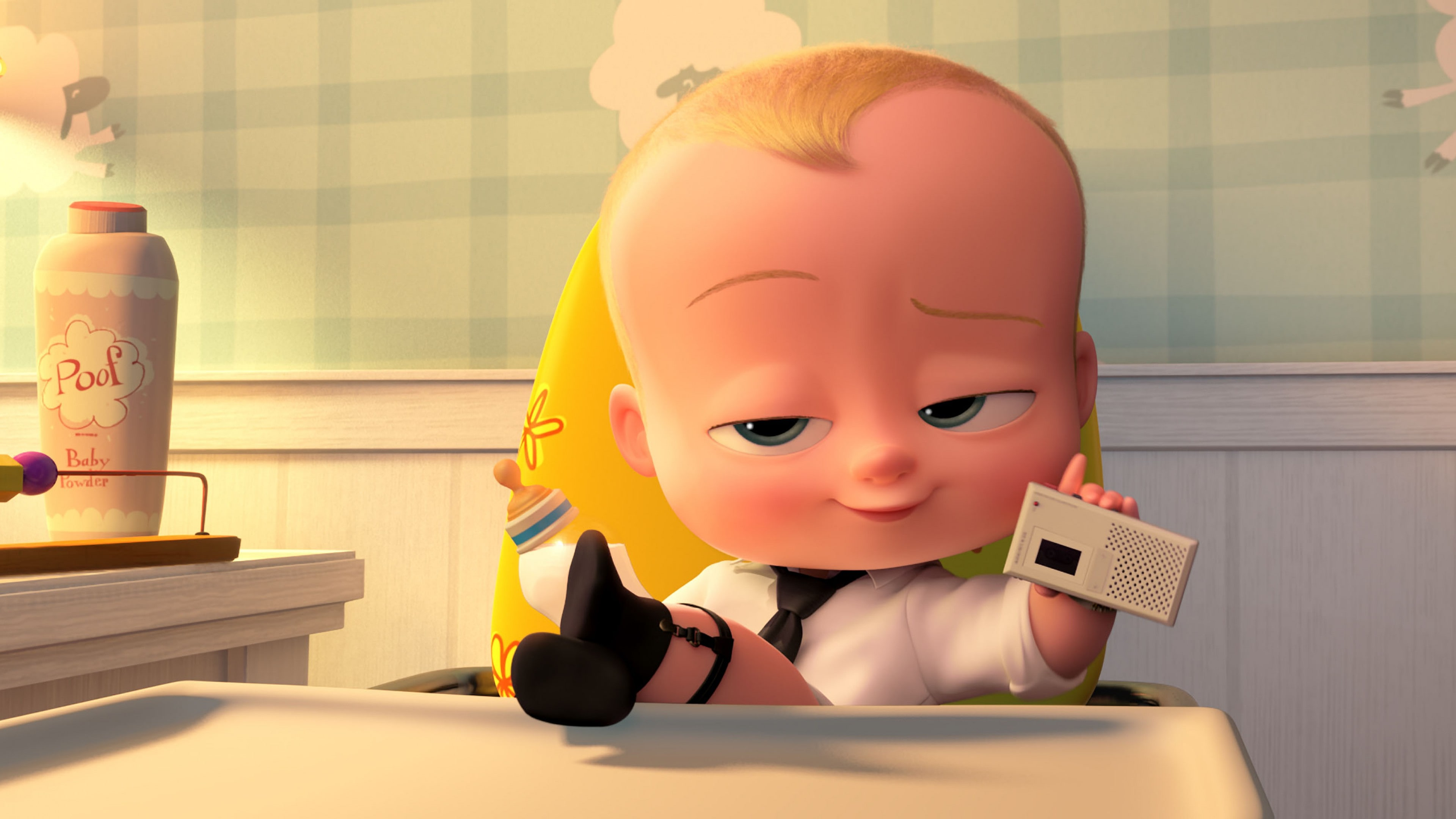 The Boss Baby Desktop wallpaper