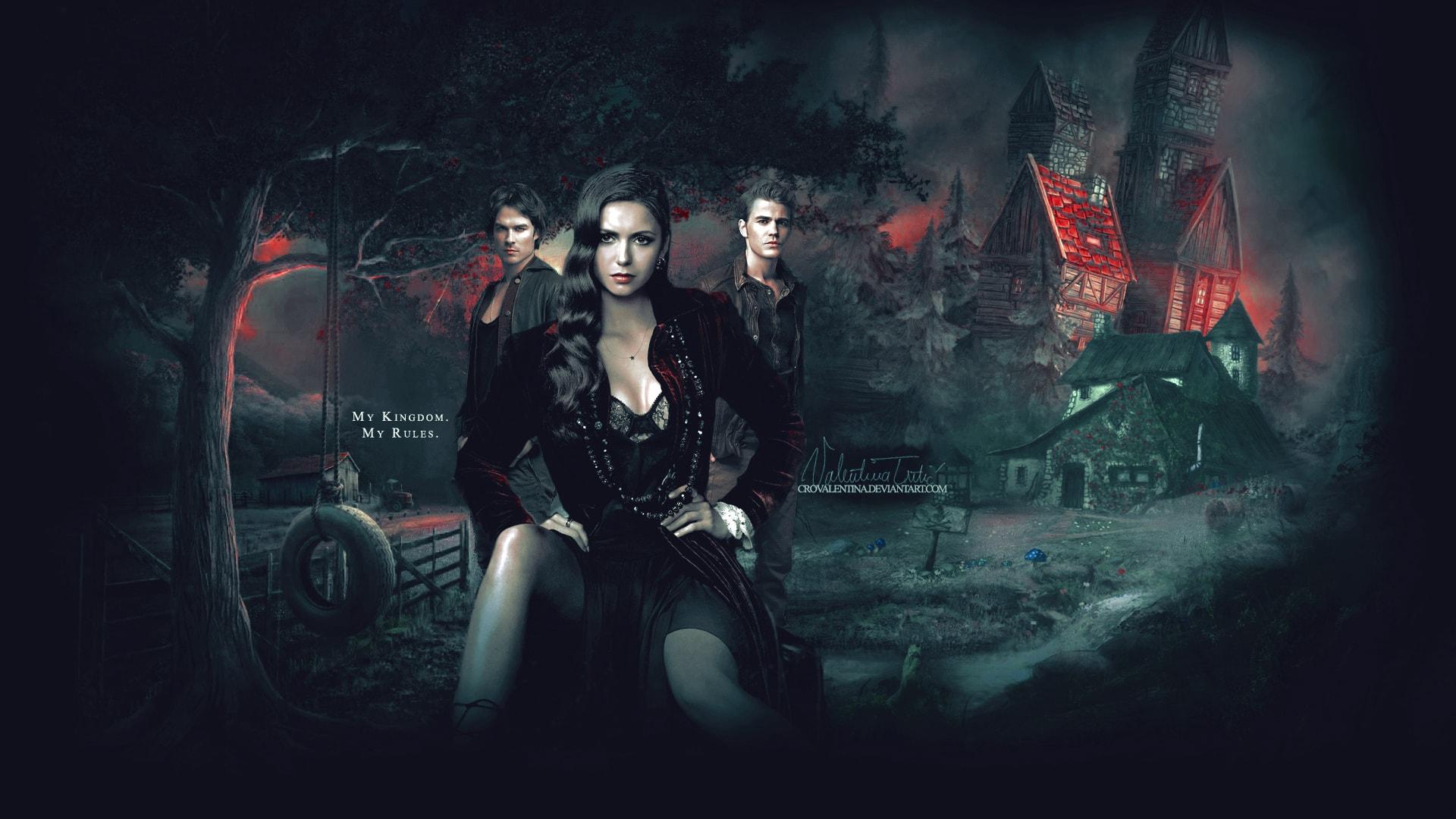The Vampire Diaries Hd Wallpapers 7wallpapers Net