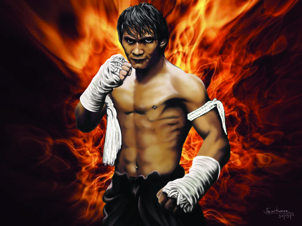 Tony Jaa Desktop wallpaper
