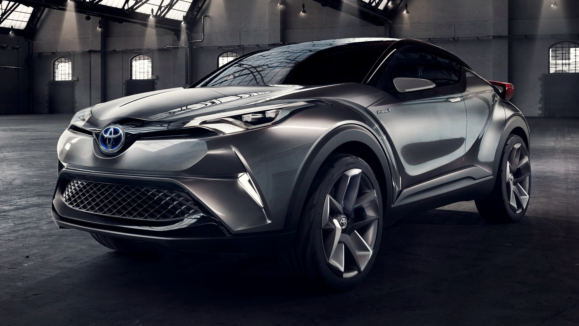 Toyota C-HR Desktop wallpaper