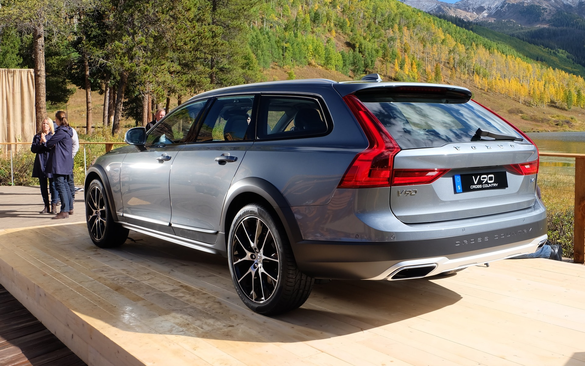 Volvo V90 Cross Country Desktop wallpaper