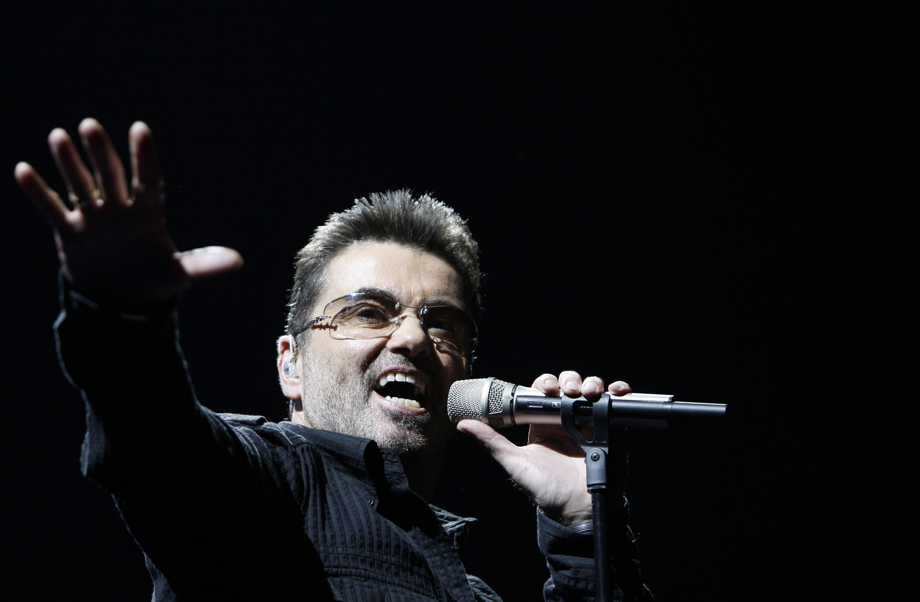 George Michael Wide wallpapers