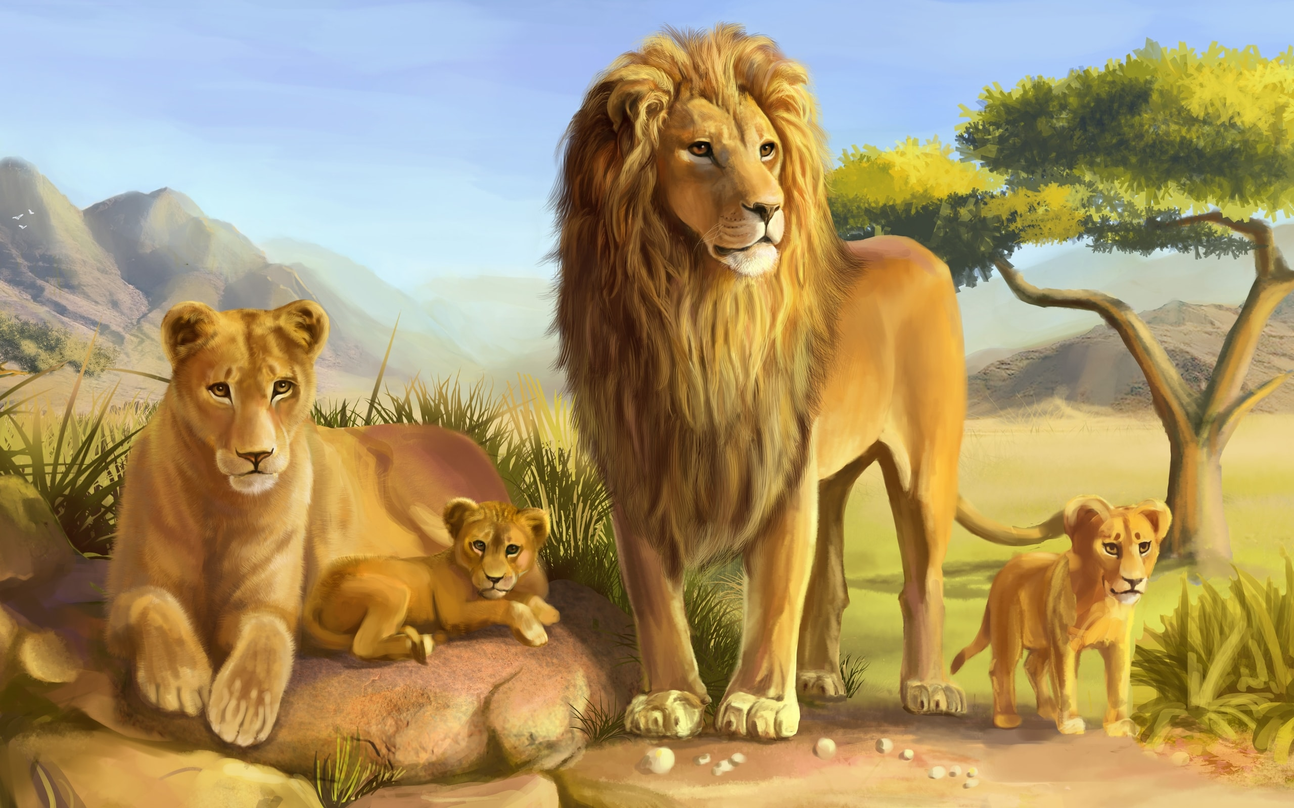 Lion full hd wallpapers