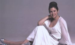 Carrie Fisher Shiny wallpapers