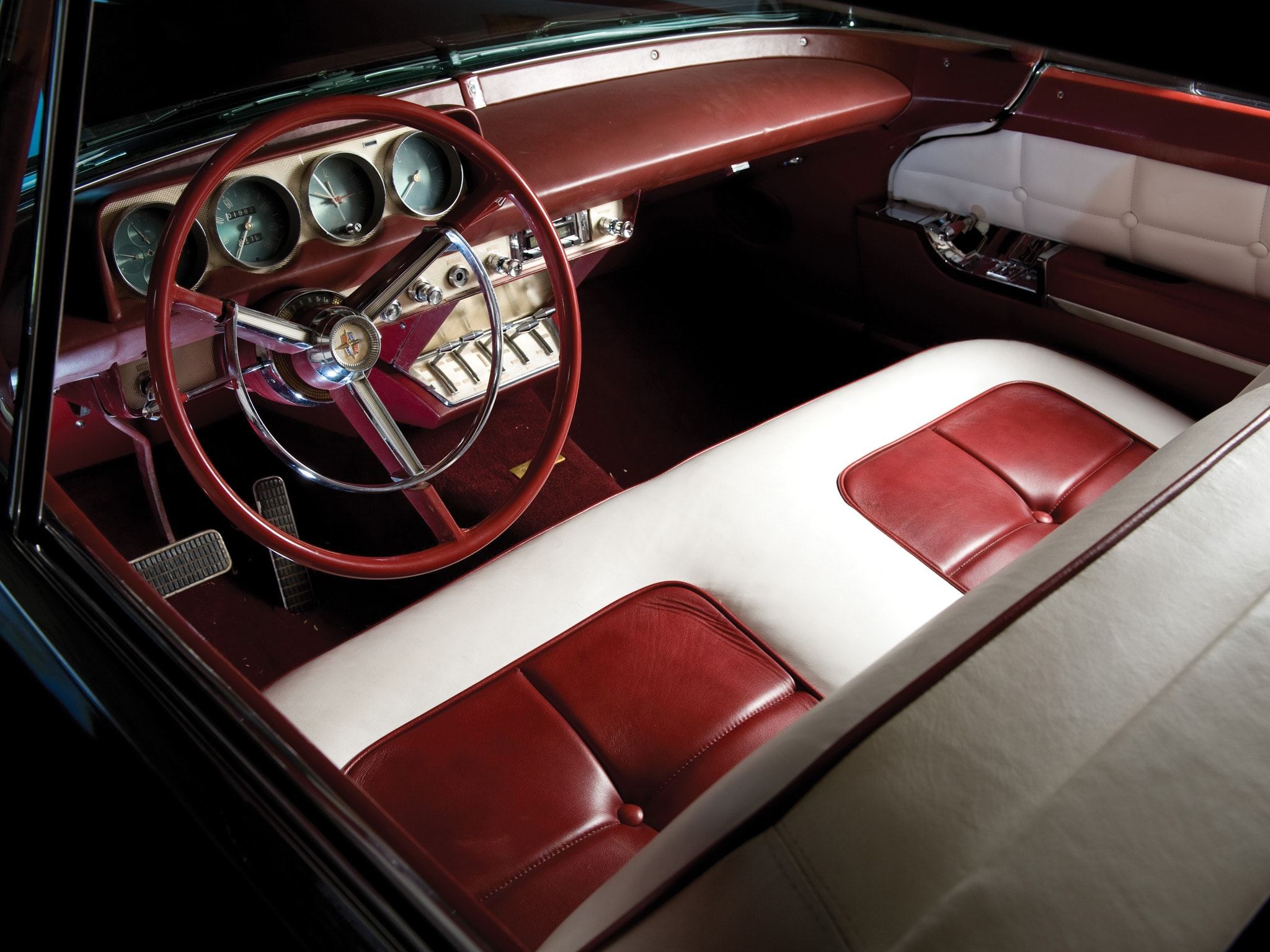 1956 Lincoln Mark II widescreen wallpapers