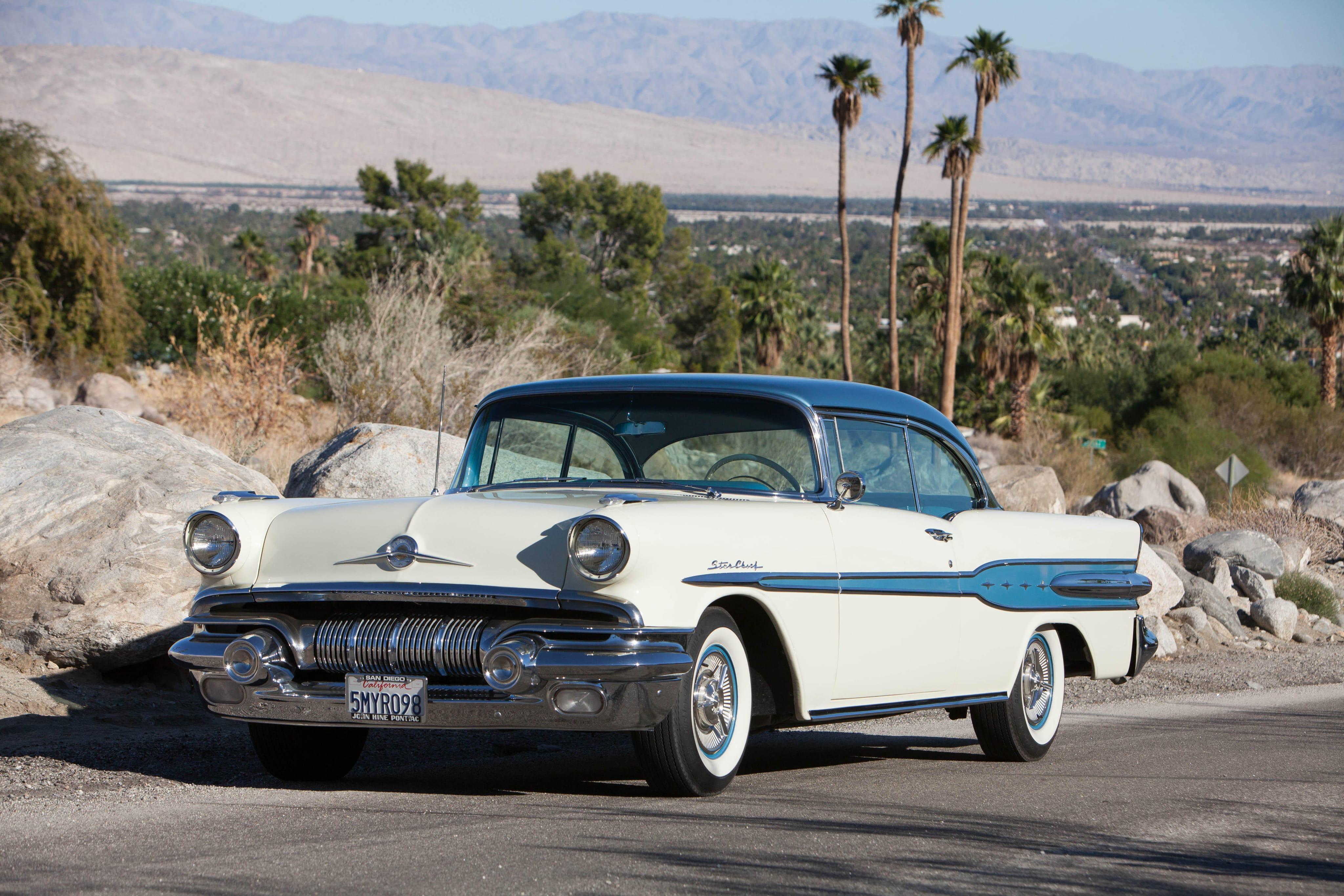 1957 Pontiac Star Chief Custom Bonneville widescreen wallpapers