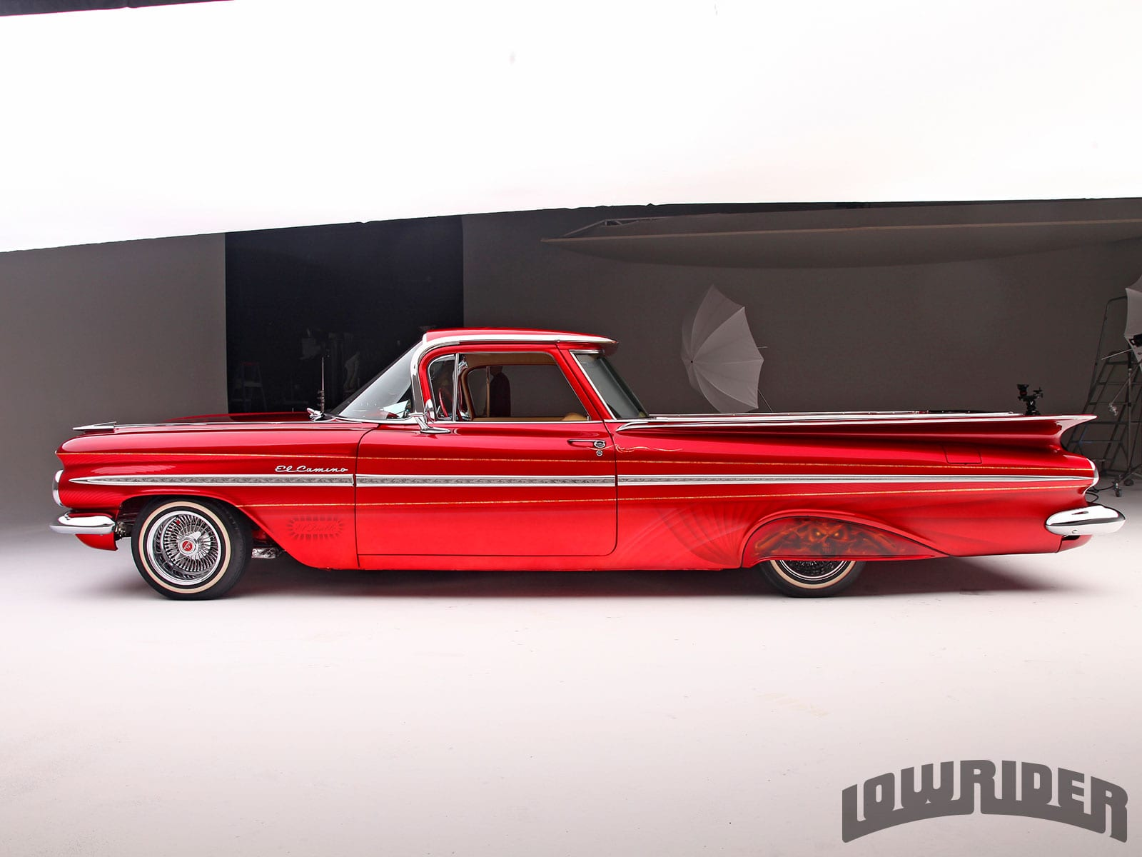 1959 Chevrolet El Camino widescreen wallpapers