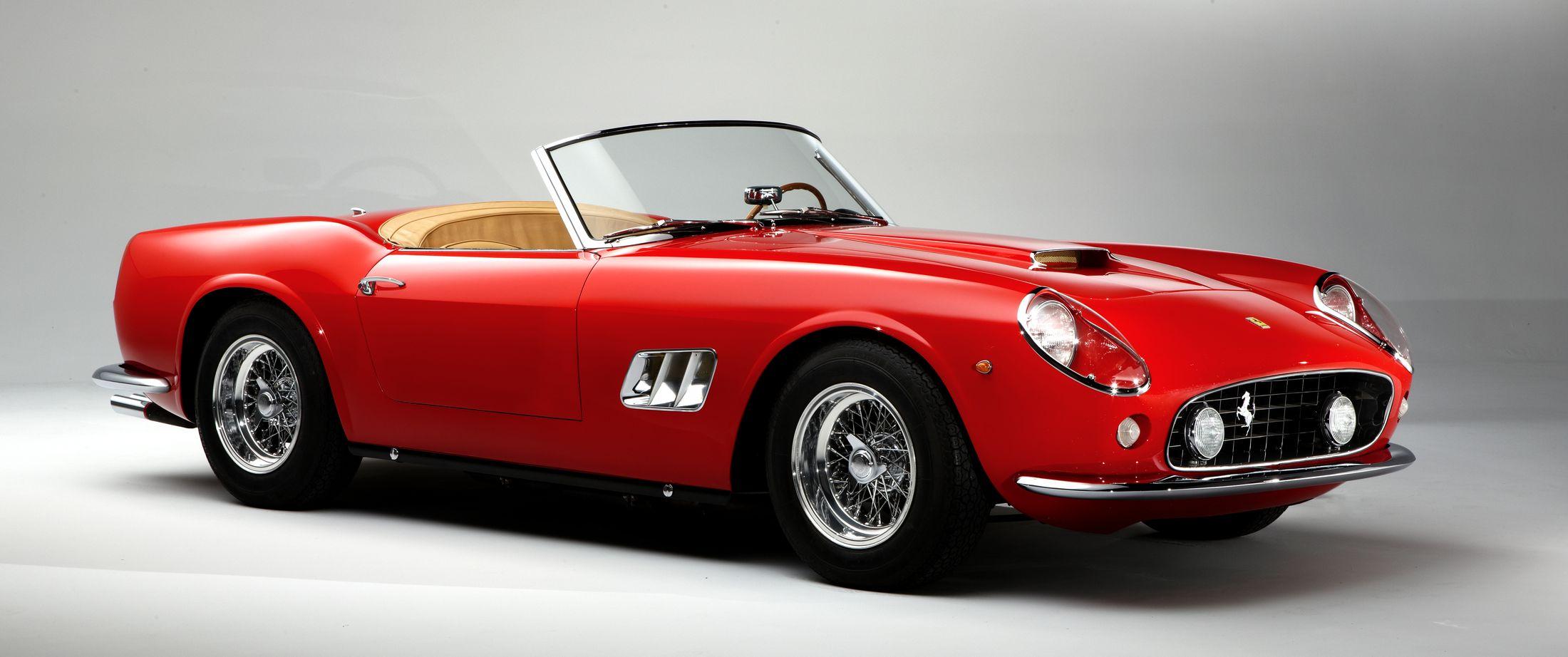 1961 Ferrari 250 GT California widescreen wallpapers