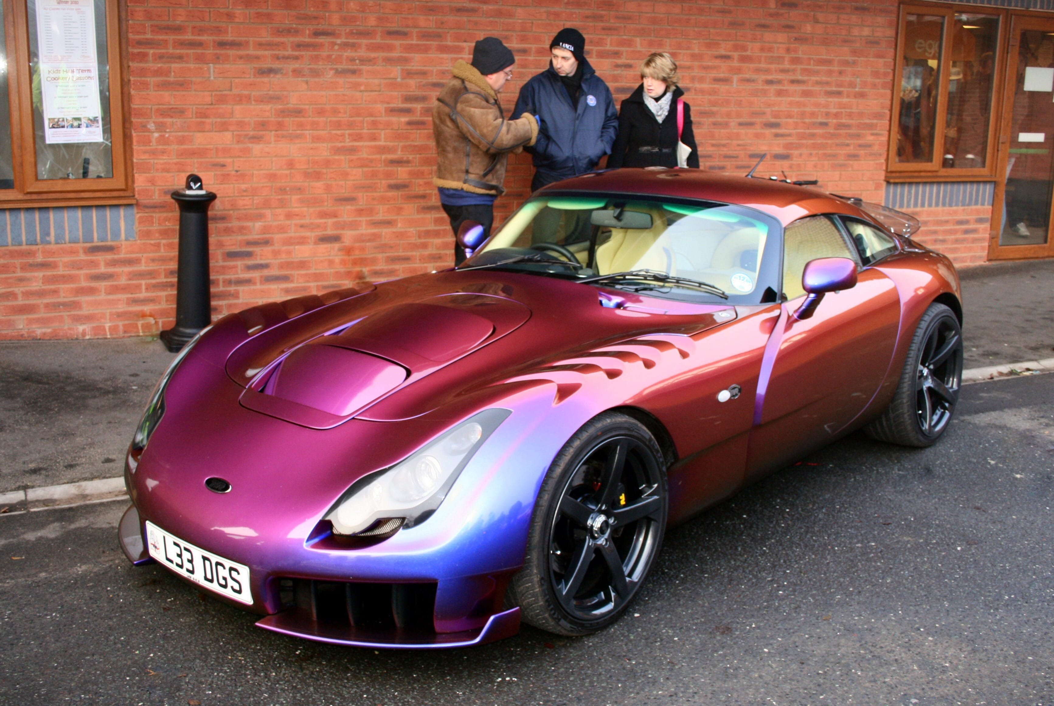 2005 TVR Sagaris widescreen wallpapers