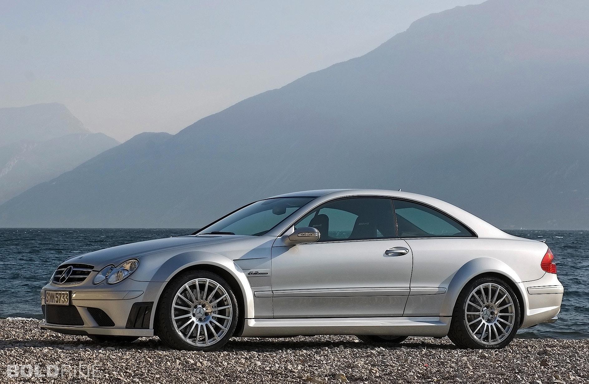 2008 Mercedes-Benz CLK63 AMG Black Series widescreen wallpapers
