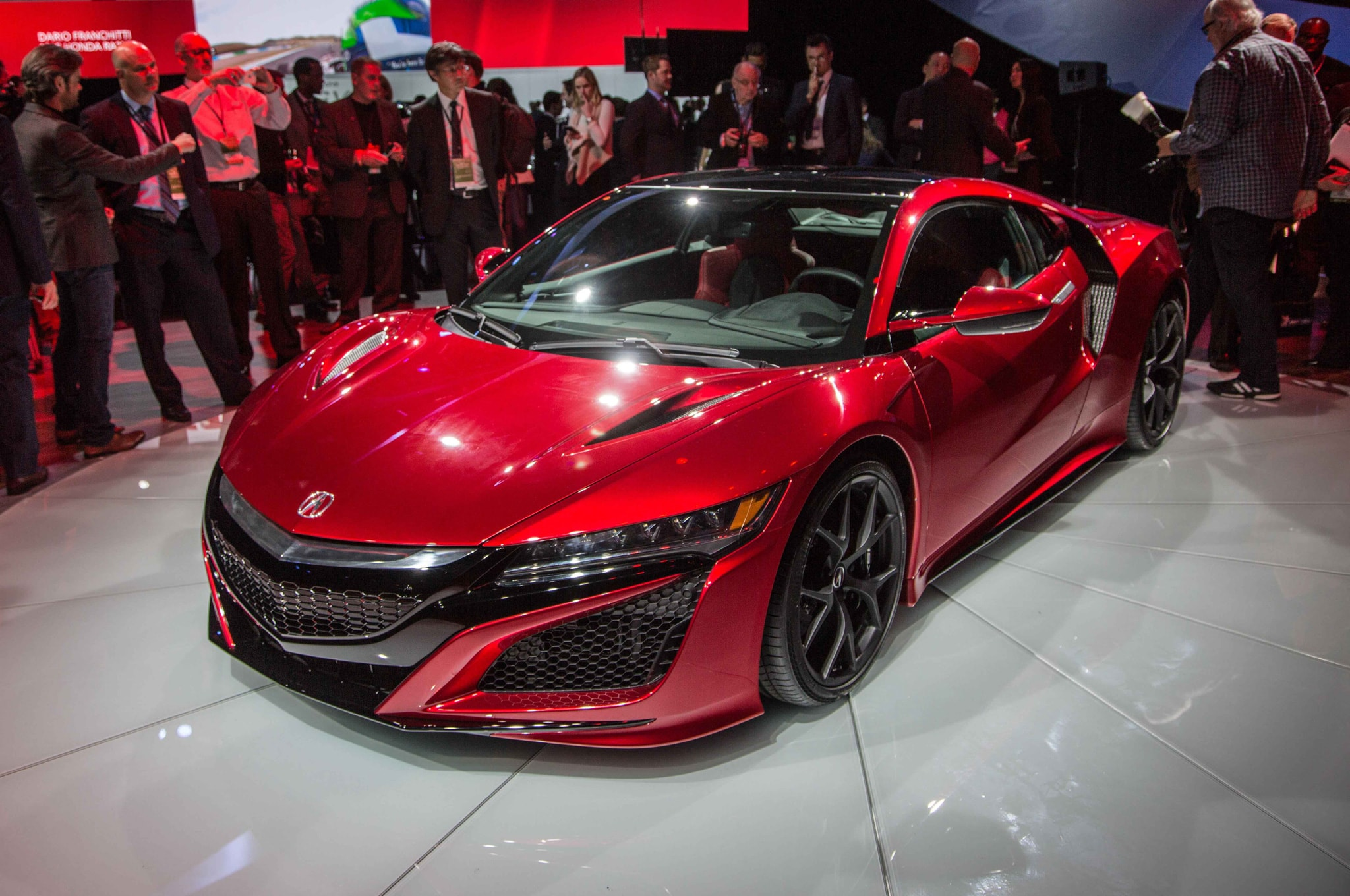 Acura NSX II widescreen wallpapers