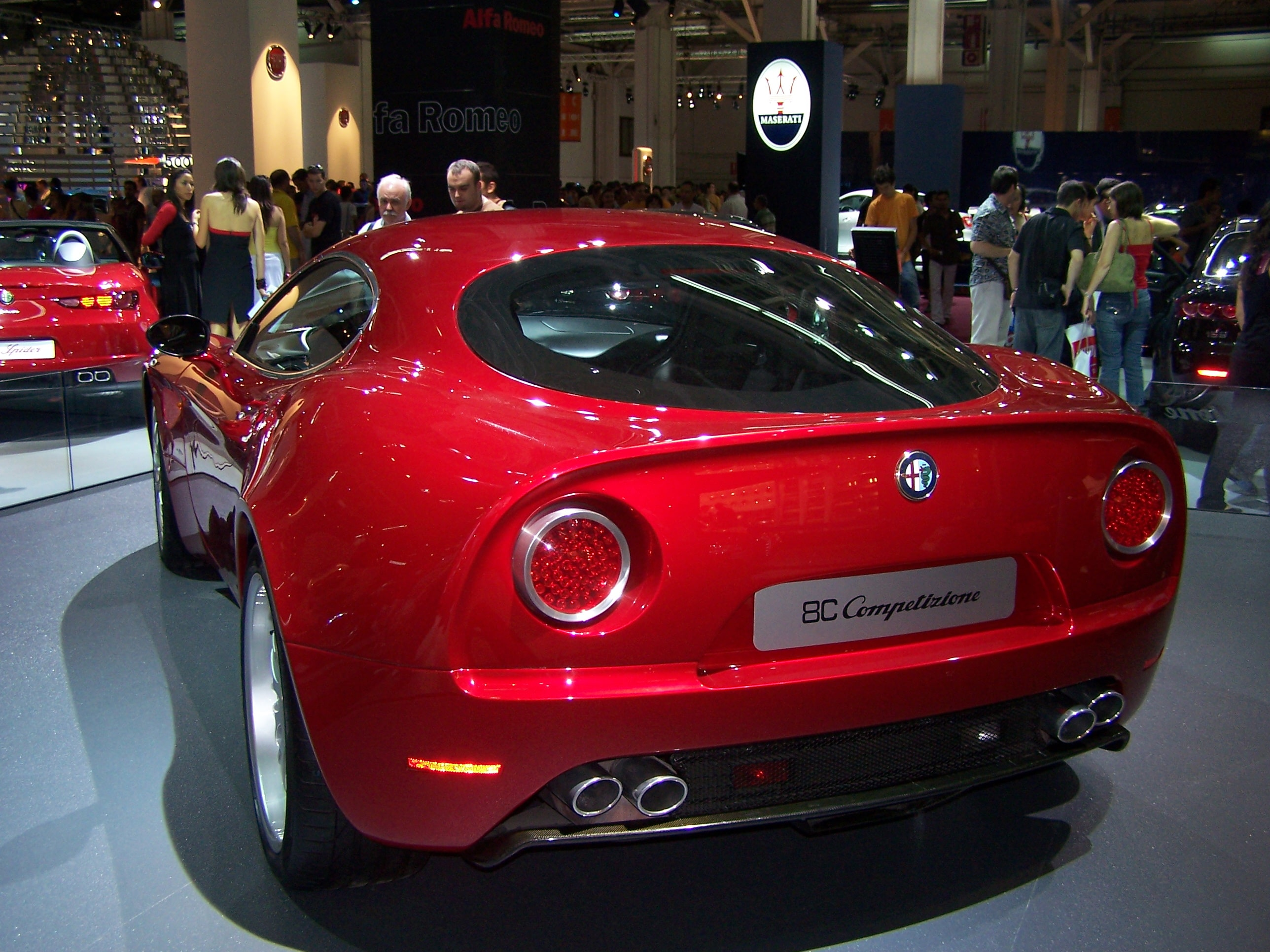 Alfa Romeo 8c widescreen wallpapers