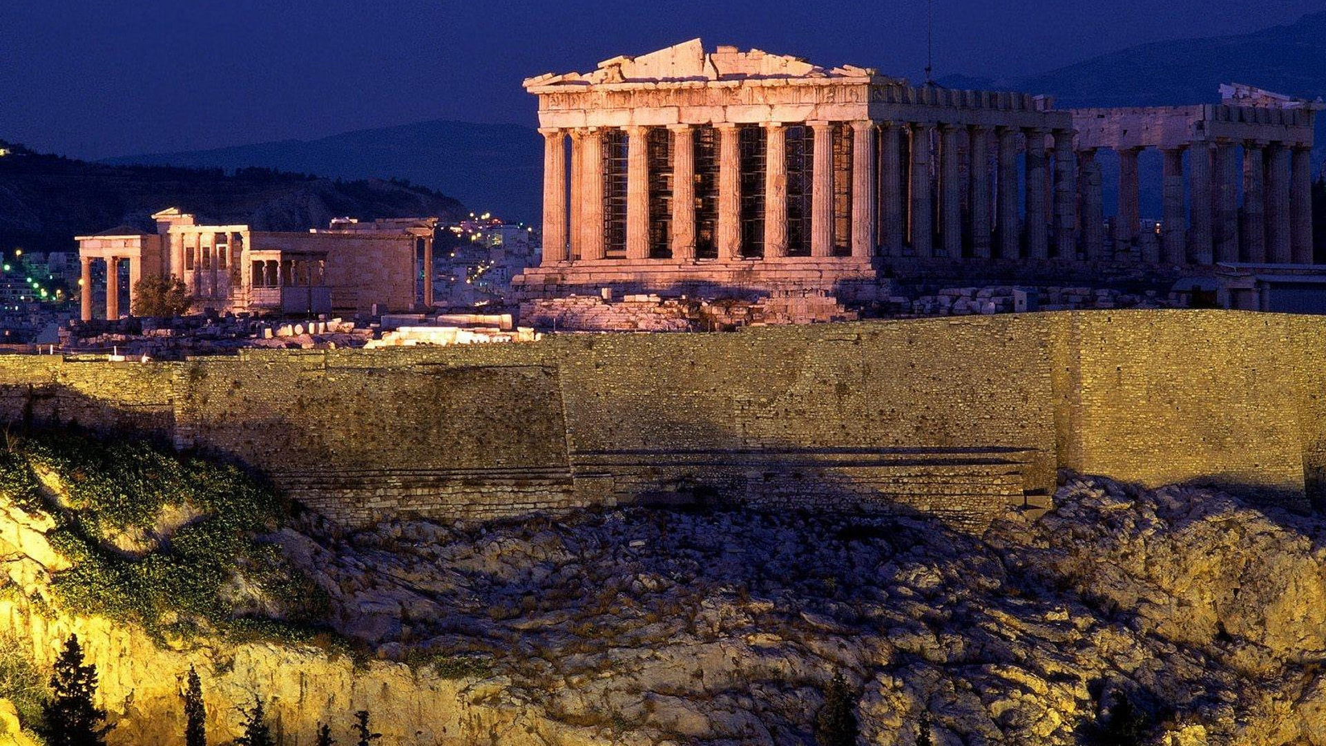 Athens widescreen wallpapers