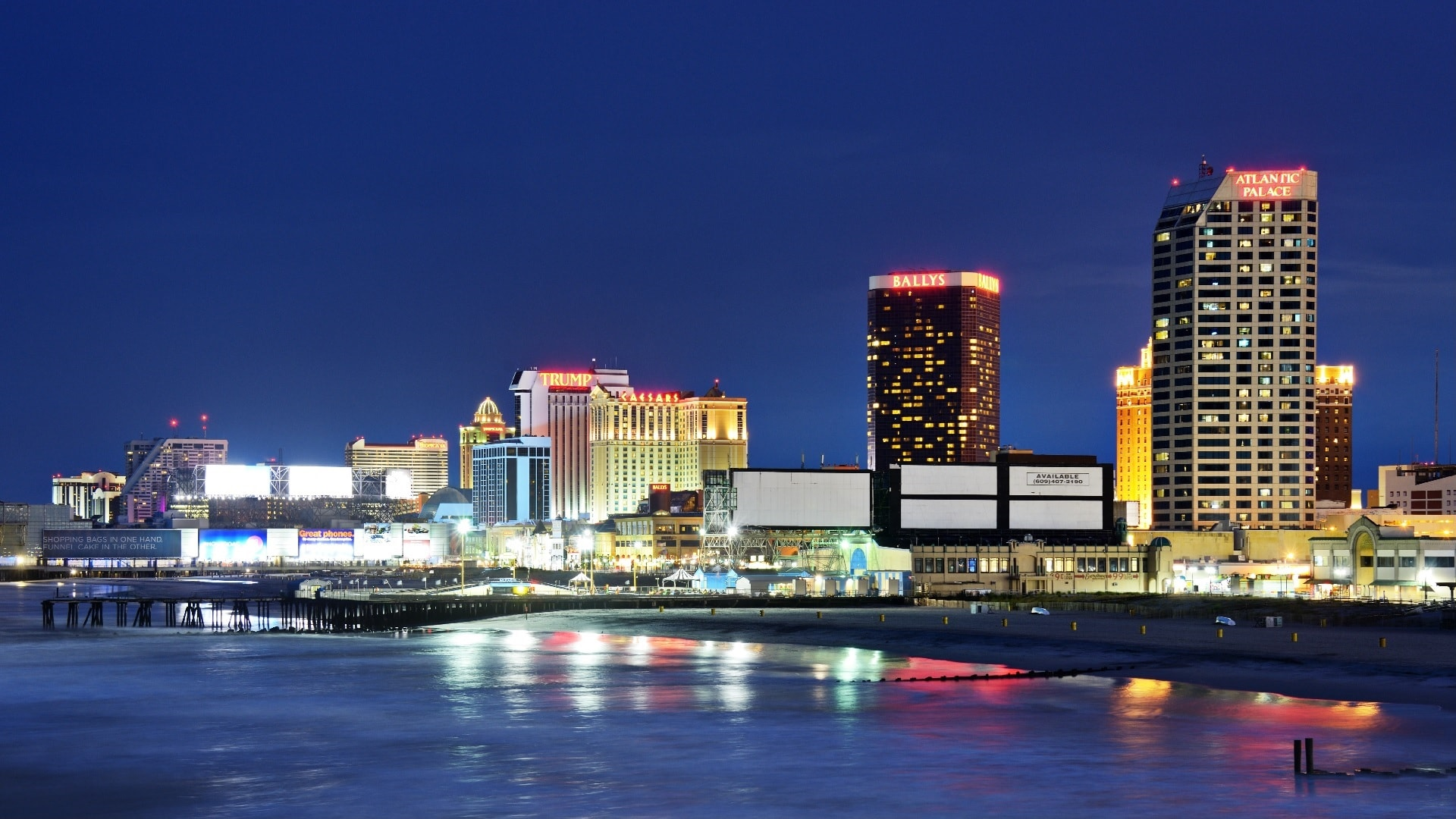 Atlantic City widescreen wallpapers