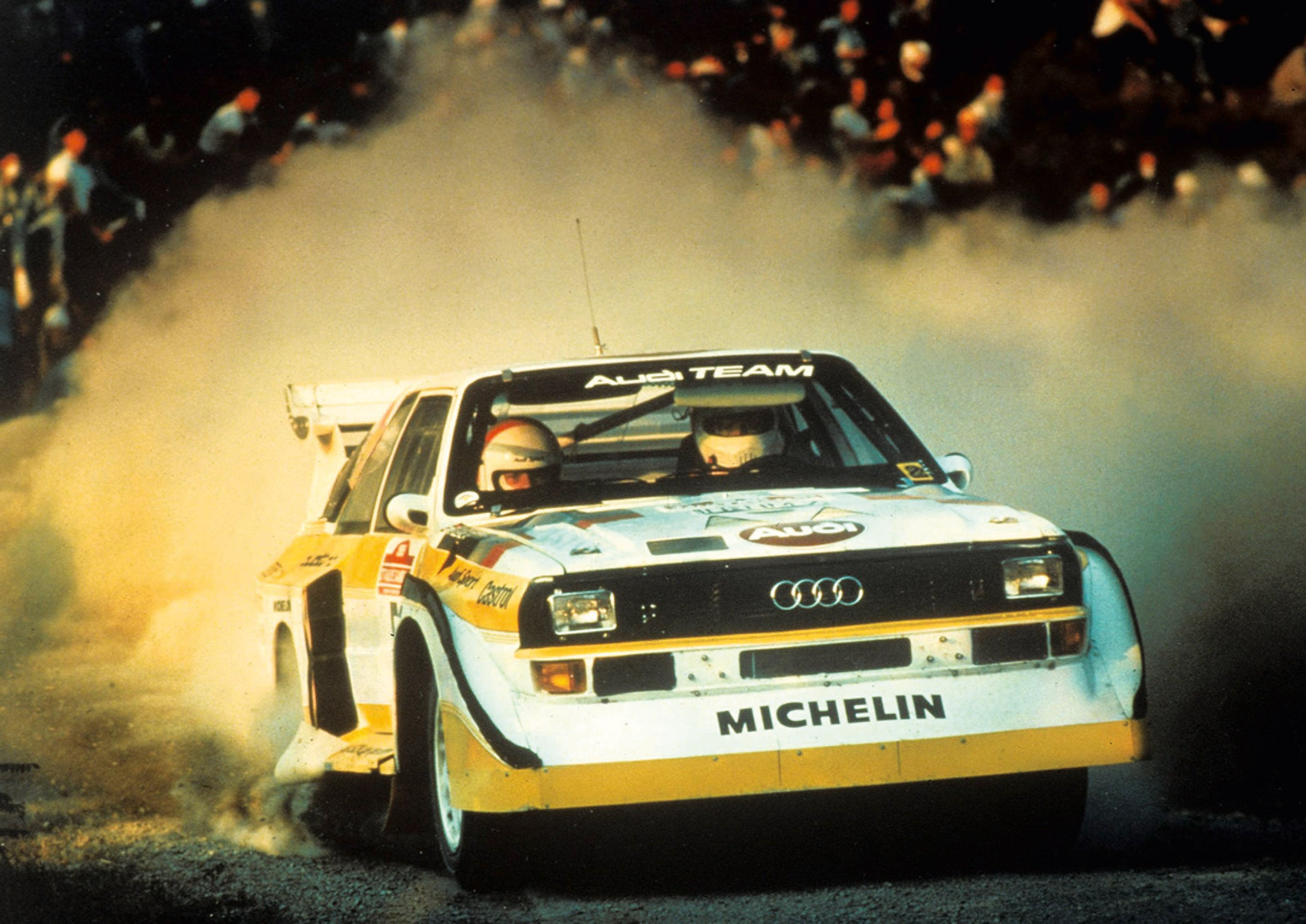 Audi Sport Quattro S1 widescreen wallpapers