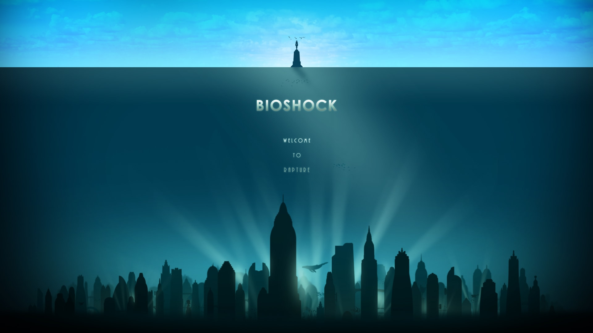 bioshock the collection widescreen wallpapers