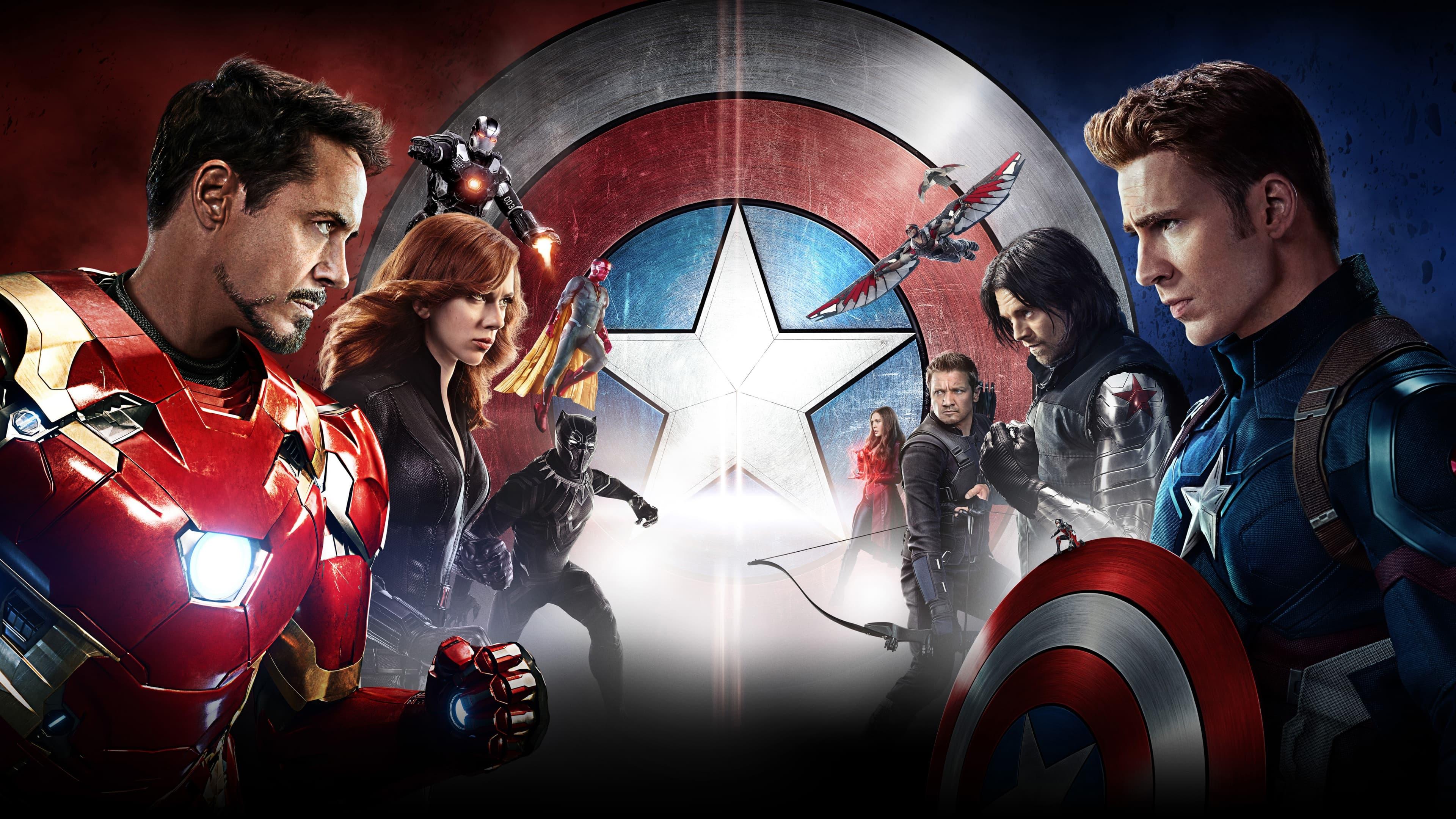 Captain America: Civil War widescreen wallpapers