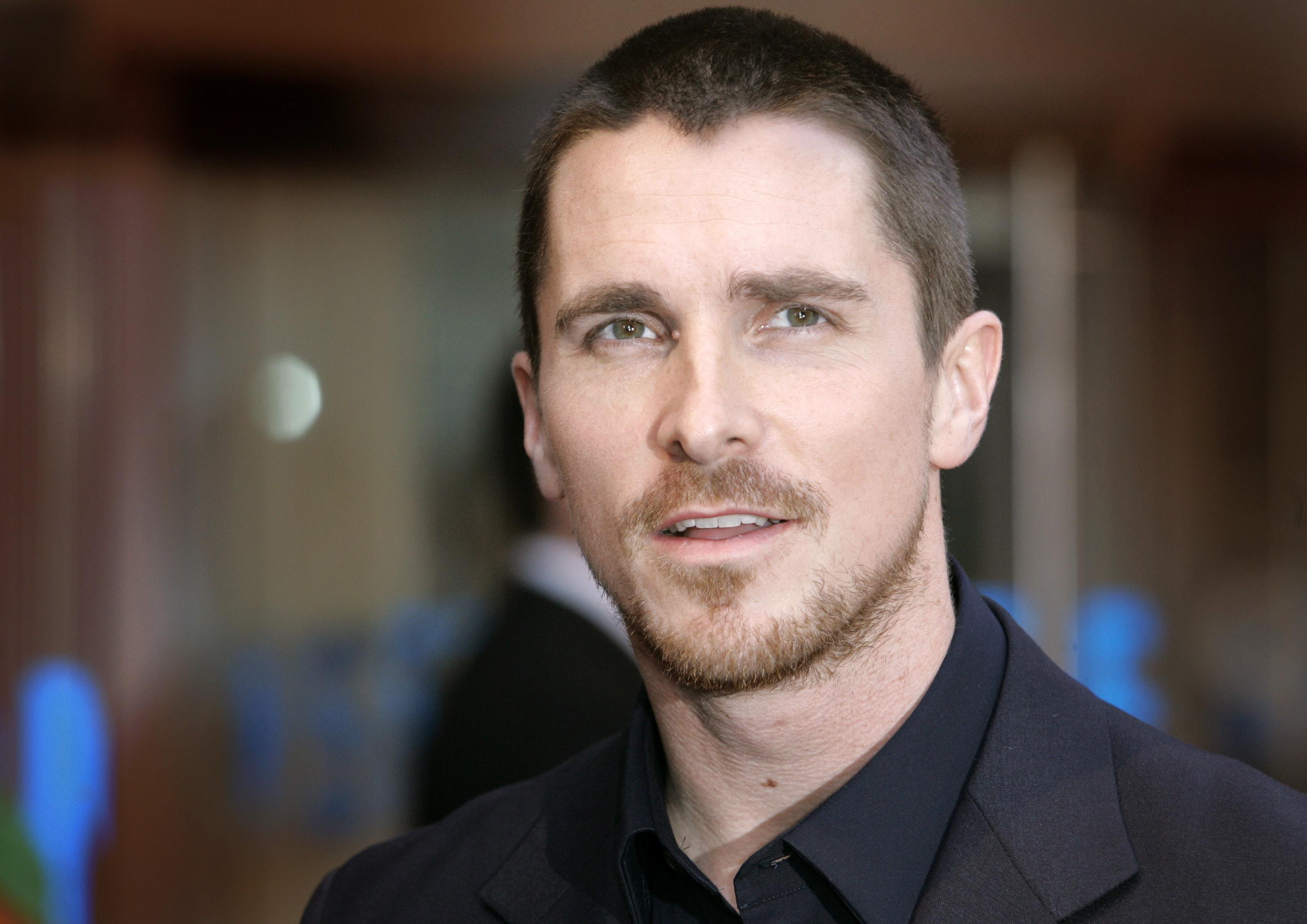 Phenomenal Christian Bale Hd Desktop Wallpapers 7Wallpapers Net Short Hairstyles For Black Women Fulllsitofus