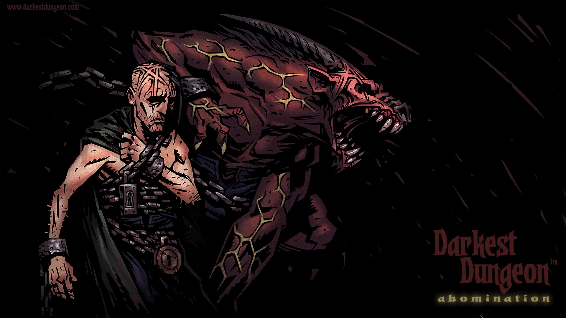 Darkest Dungeon: Abomination Background