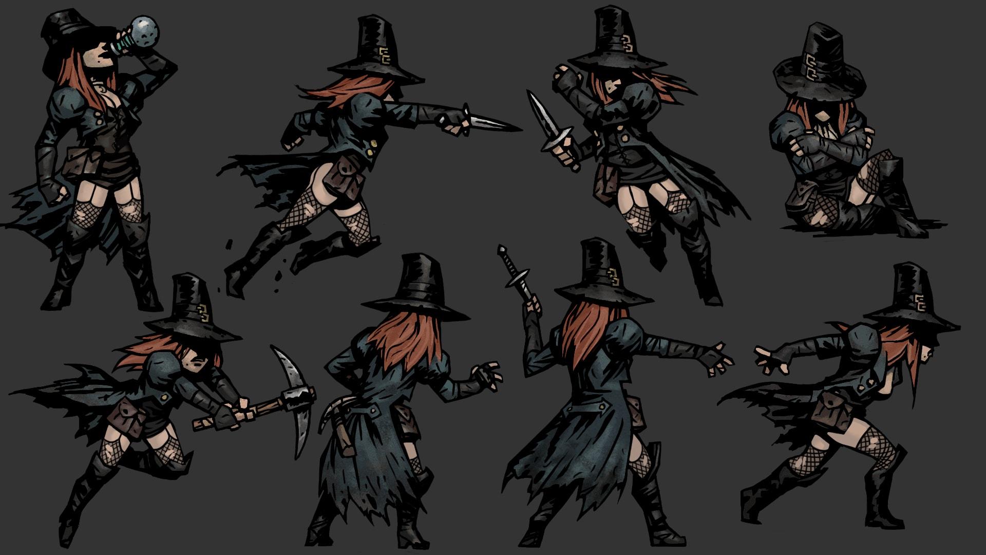 Darkest Dungeon: Grave Robber widescreen wallpapers