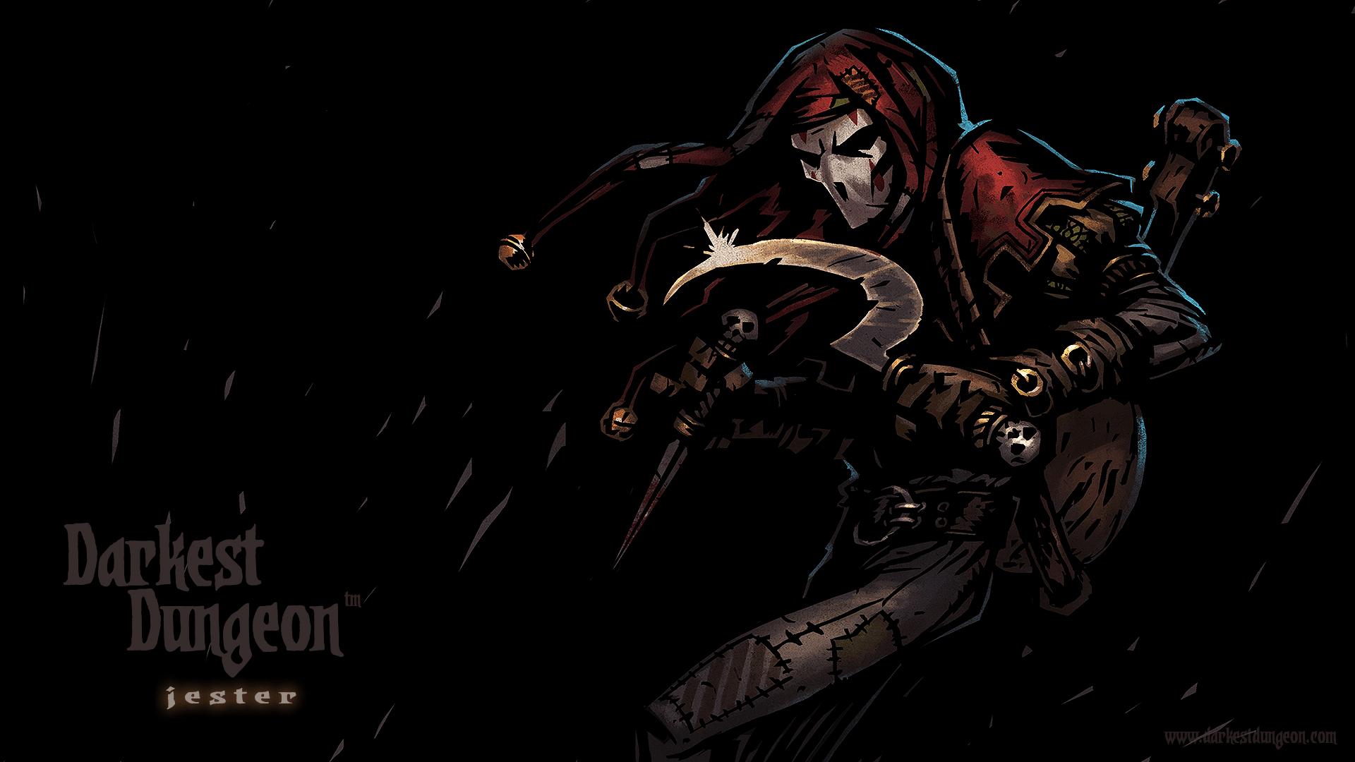 Darkest Dungeon: Jester widescreen wallpapers