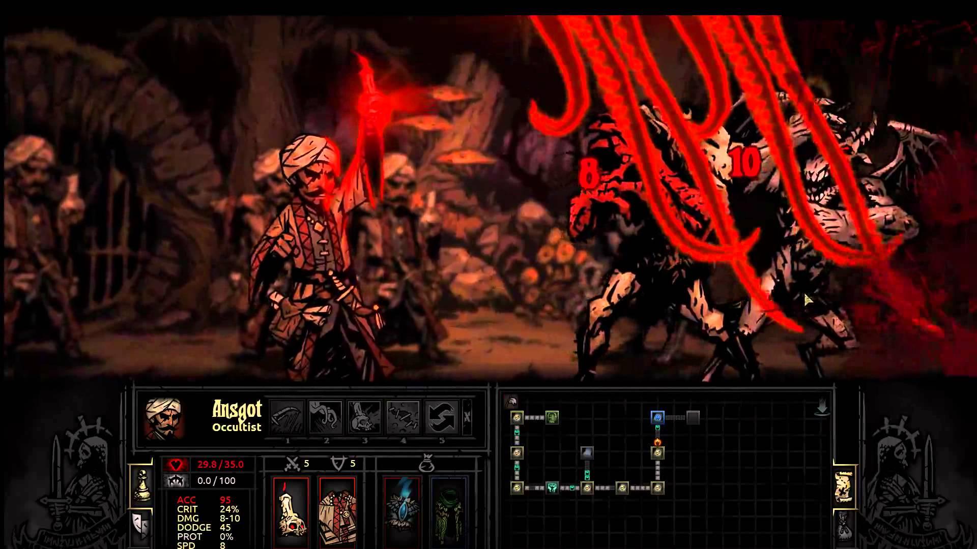 Darkest Dungeon: Occultist HQ wallpapers