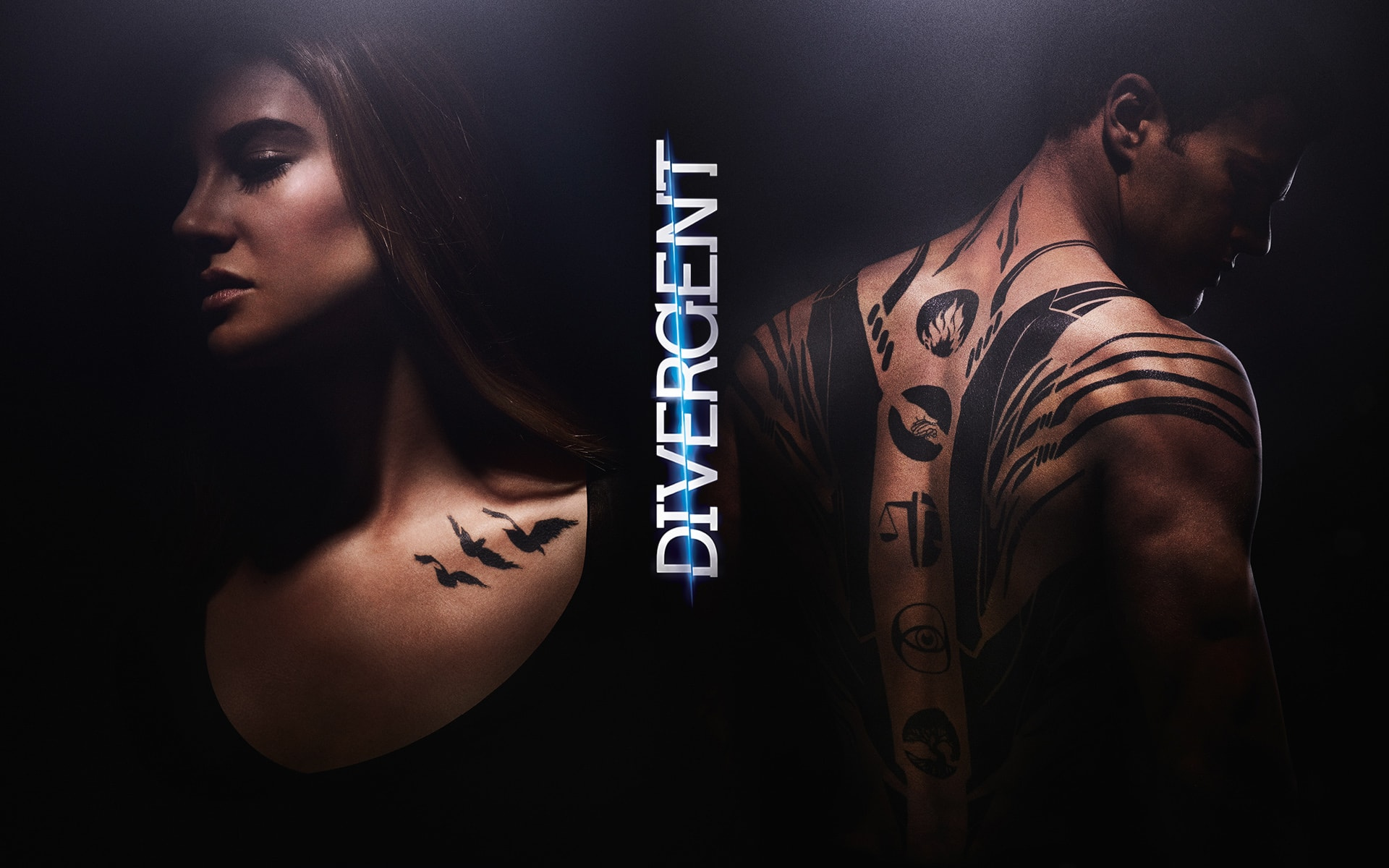 Divergent widescreen wallpapers
