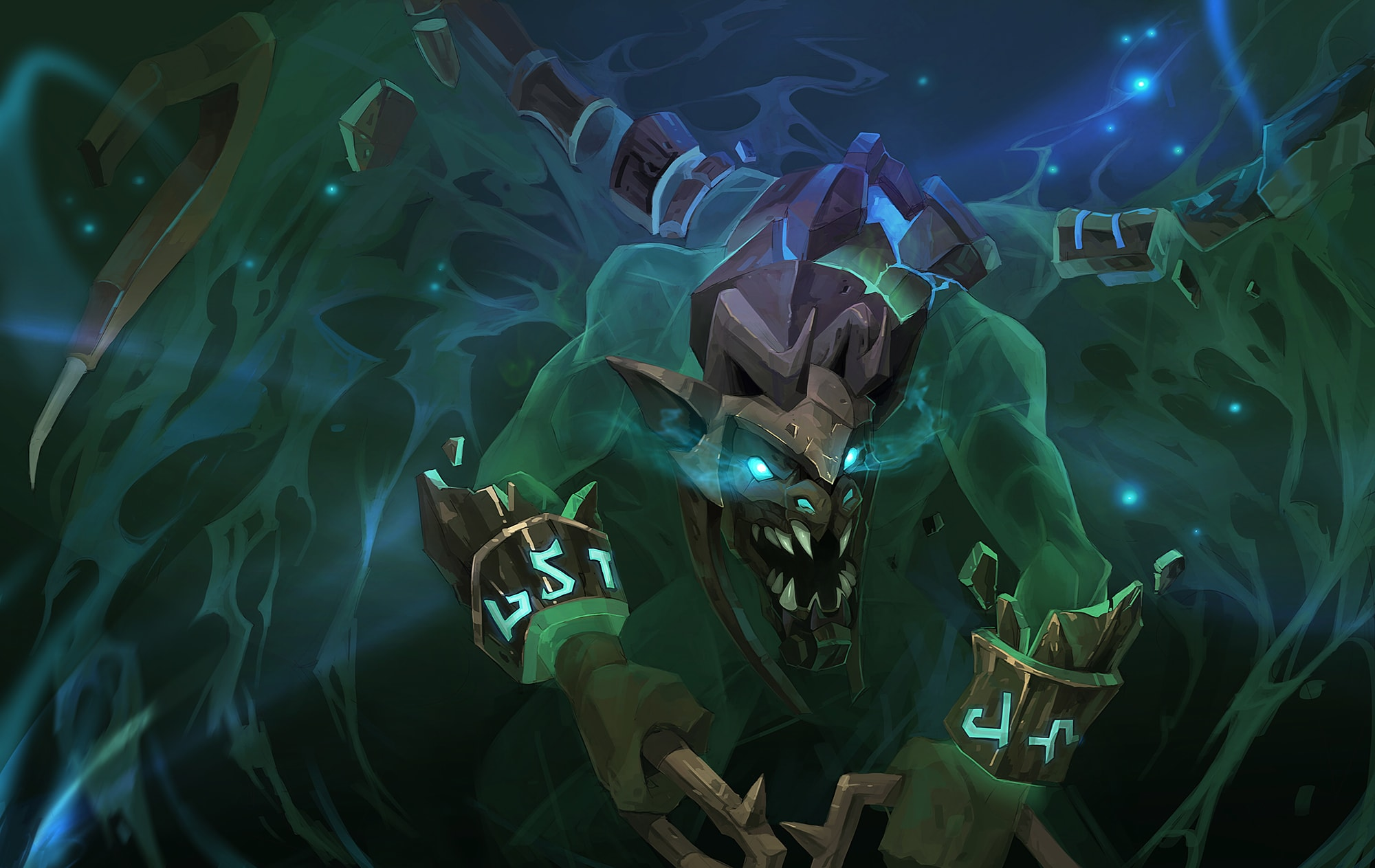 Dota 2 : Visage wallpapers hd
