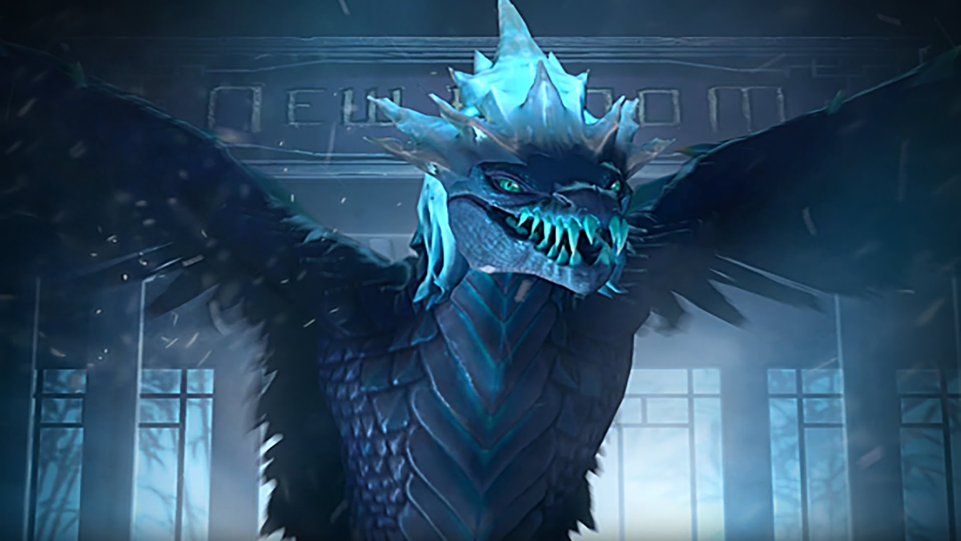 Dota 2 : Winter Wyvern widescreen wallpapers